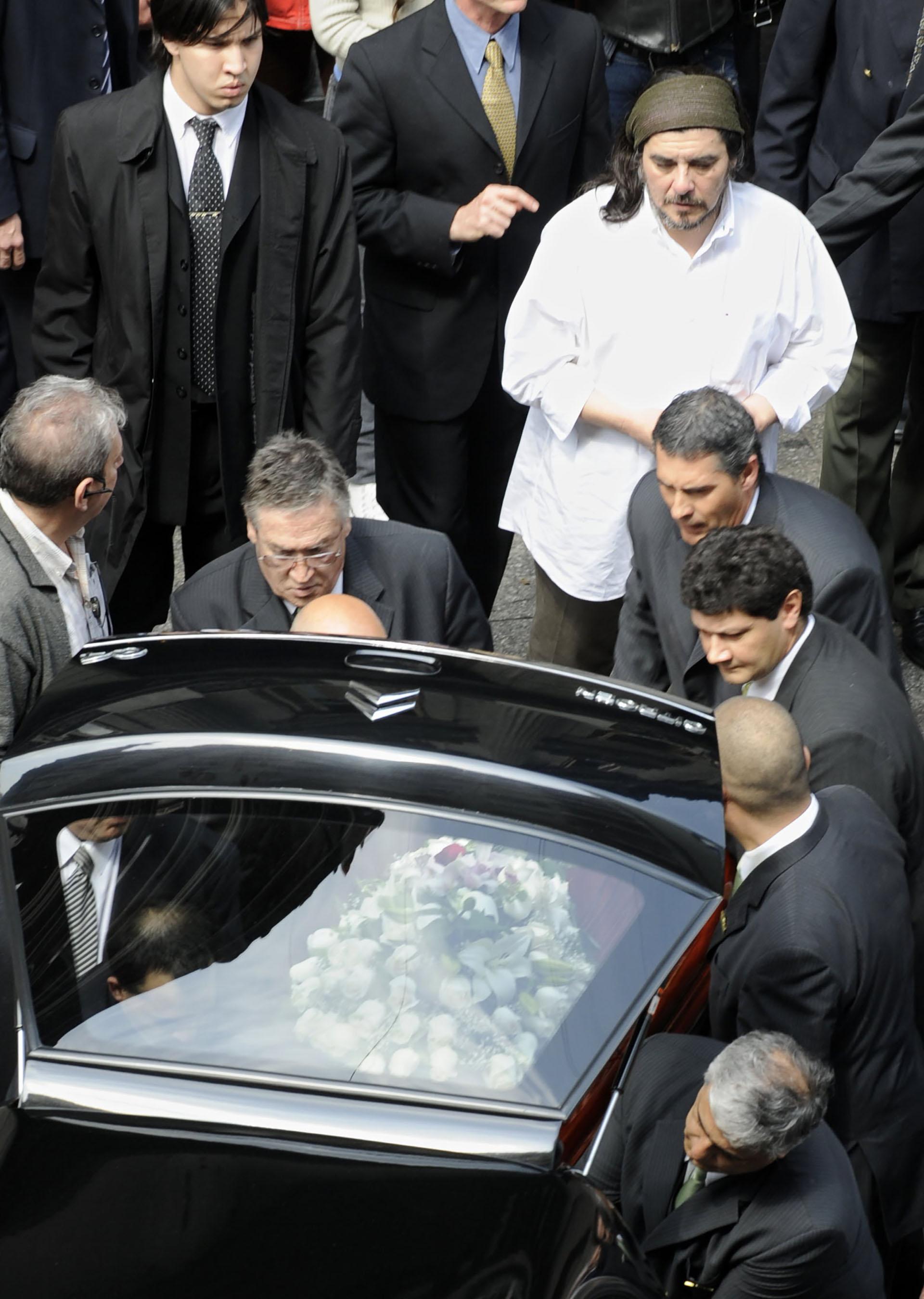 El 4 de octubre de 2009, murió Mercedes Sosa. Sus restos fueron velados en el Congreso de La Nación (NA)