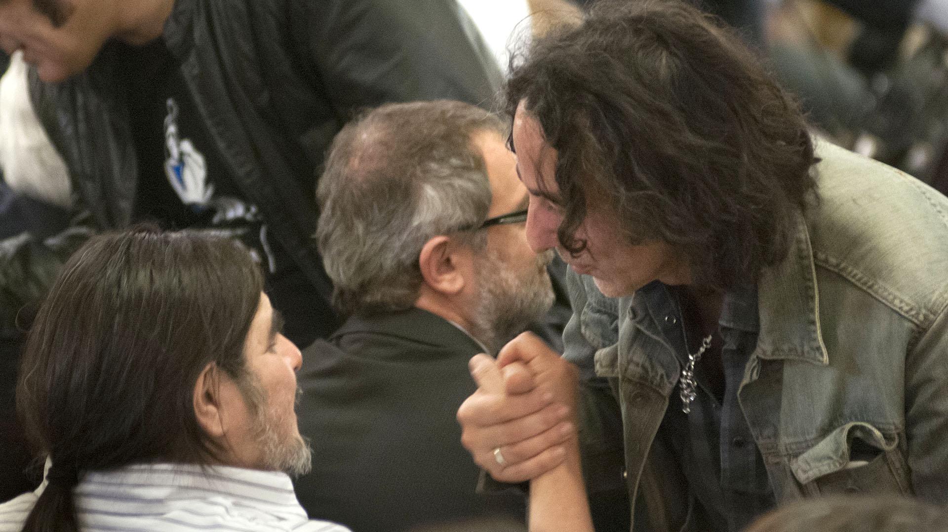 Fabián con Javier Calamaro (NA)