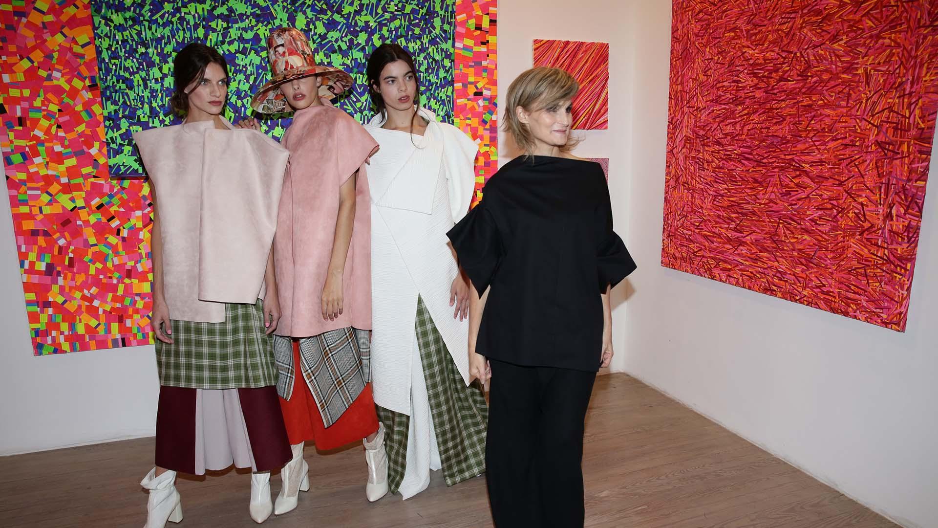 La prestigiosa diseñadora volvió a Designers luego de 3 años fuera de las pasarelas (Ines Garcia Baltar)