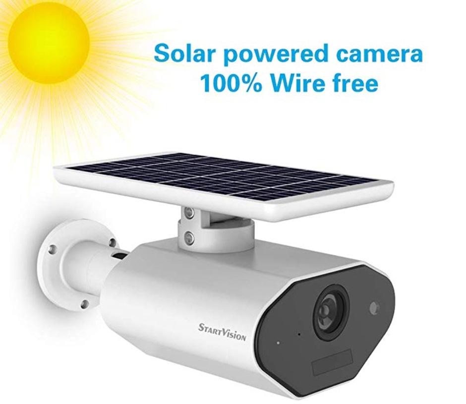 Alarma de detección de movimiento inteligente/grabación de tarjeta micro SD. Con el sensor de movimiento PIR Foto: (StartVision)