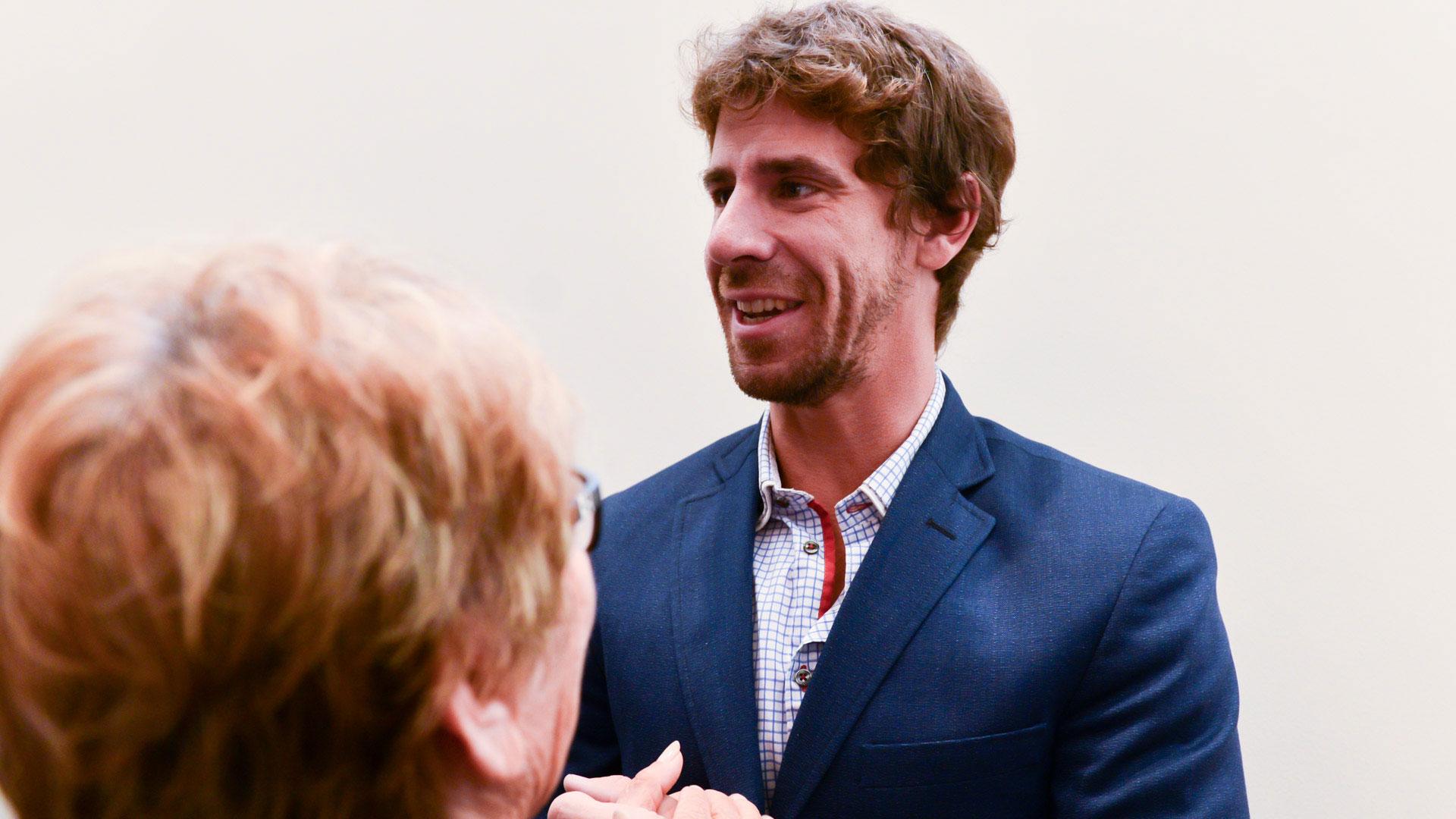 Juan Andreotti, diputado provincial que irá por la sucesión de su padre