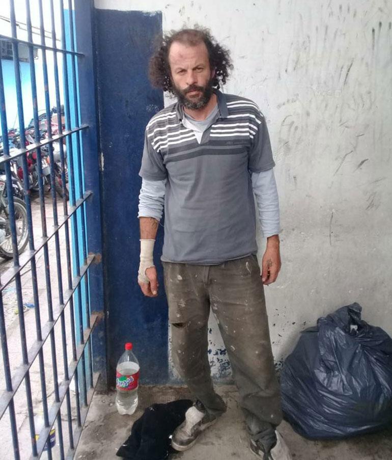 El hombre quedó detenido en una comisaría de Morón, a disposición de la Justicia