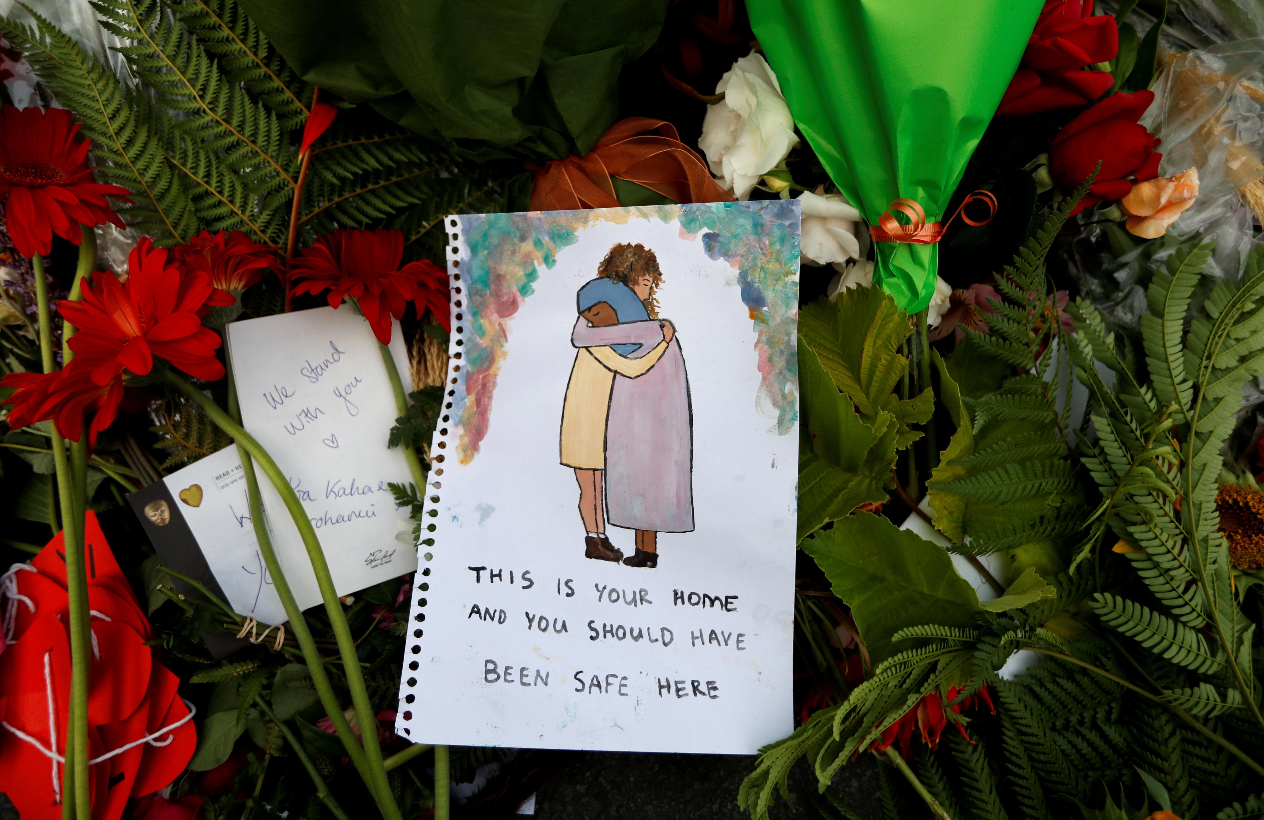 """""""Este es tu hogar y deberían estar a salvo aquí""""(REUTERS/Jorge Silva)"""