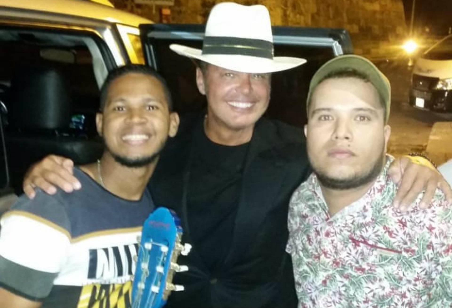 La foto de Luis Miguel junto a McCaribeño (Instagram / mccaribeno)