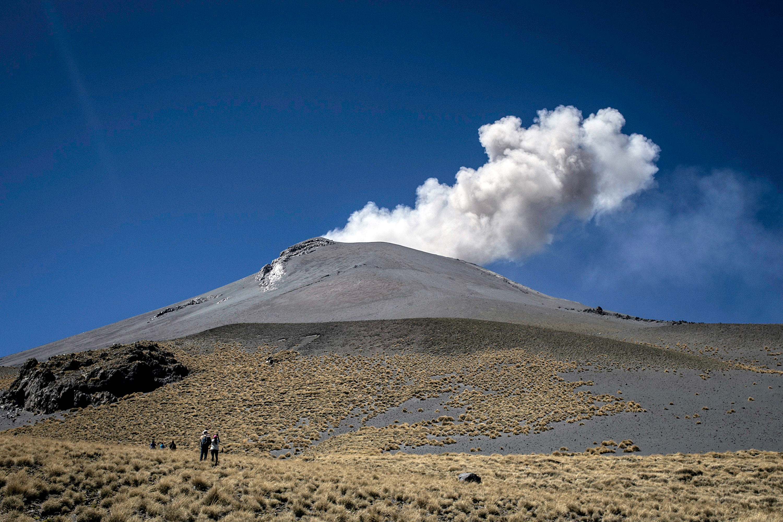 Se mantiene el Semáforo de Alerta Volcánica del Popocatépetl en Amarillo fase ( FOTO: MIREYA NOVO /CUARTOSCURO)