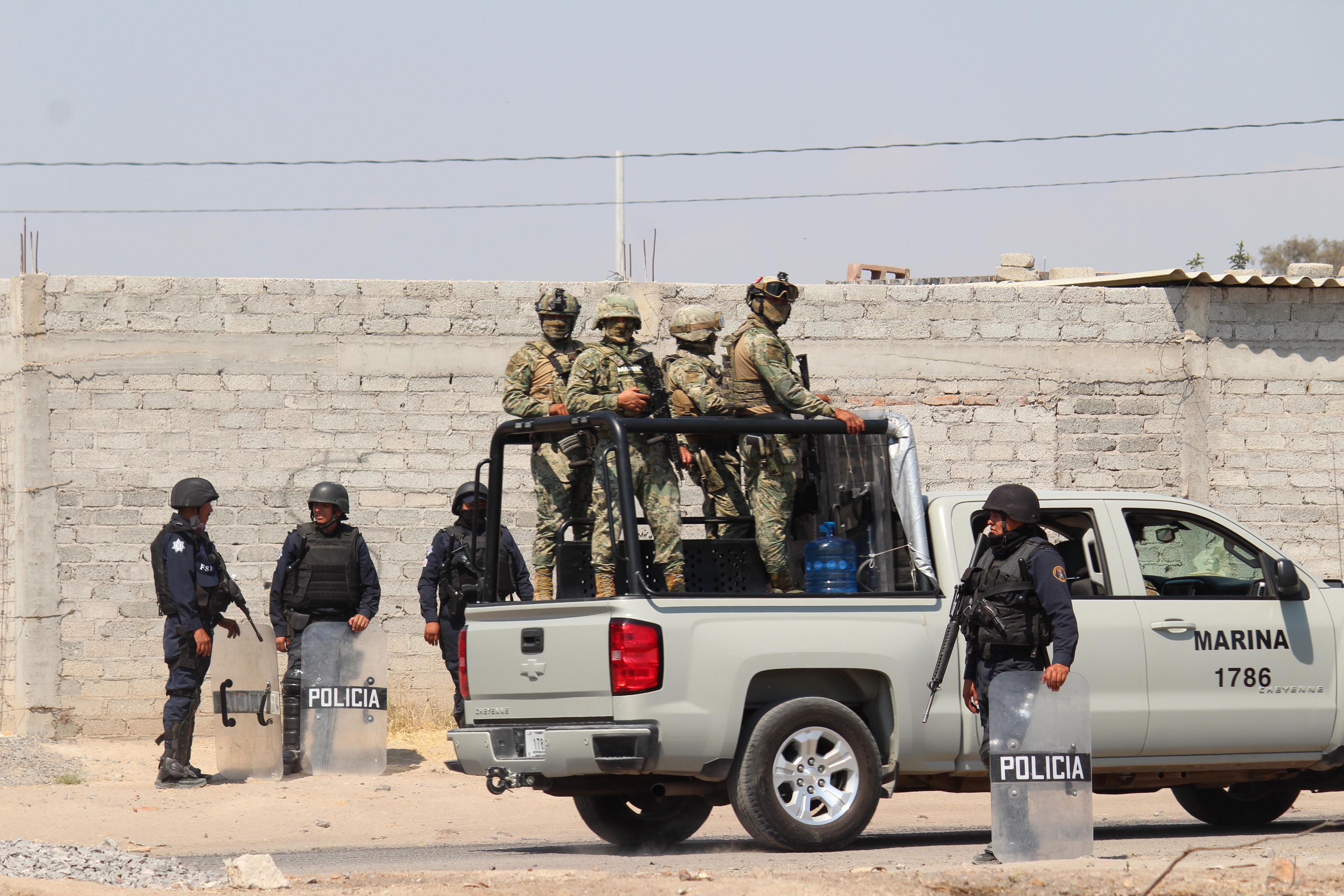 """El operativo """"Golpe de Timón"""" se realiza en varios municipios del estado de Guanajuato (FOTO: ALEJANDRO ROJAS /CUARTOCURO)"""