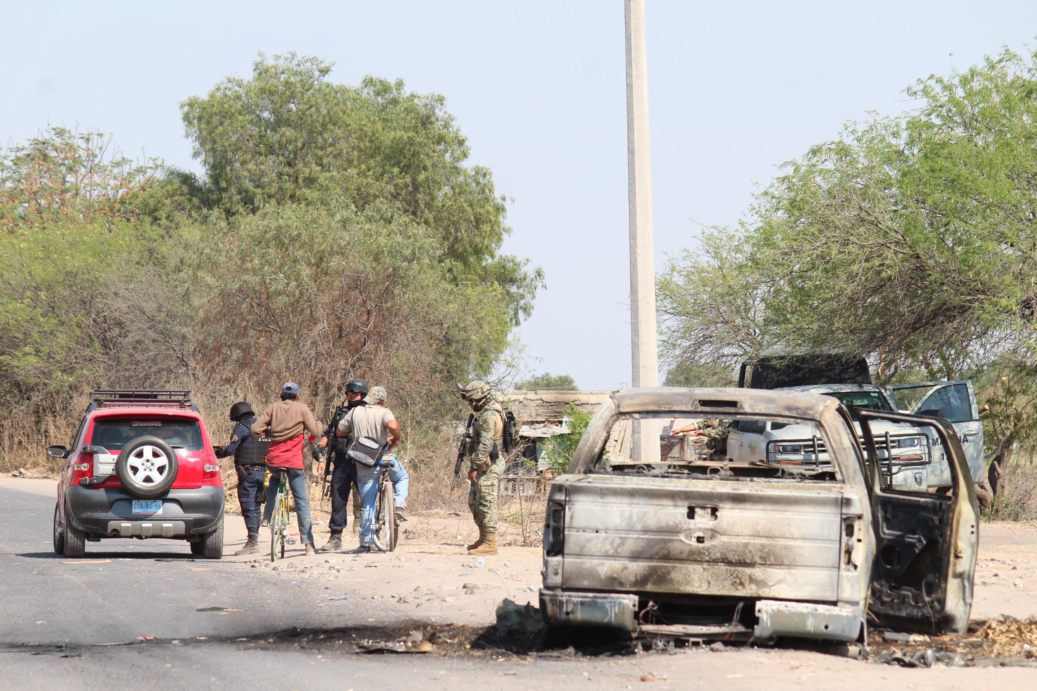 La Fiscalía General del Estado de Guanajuato informó que fueron asegurados 97 vehículos con reporte de robo y 21 inmuebles (FOTO: ALEJANDRO ROJAS /CUARTOCURO.COM)