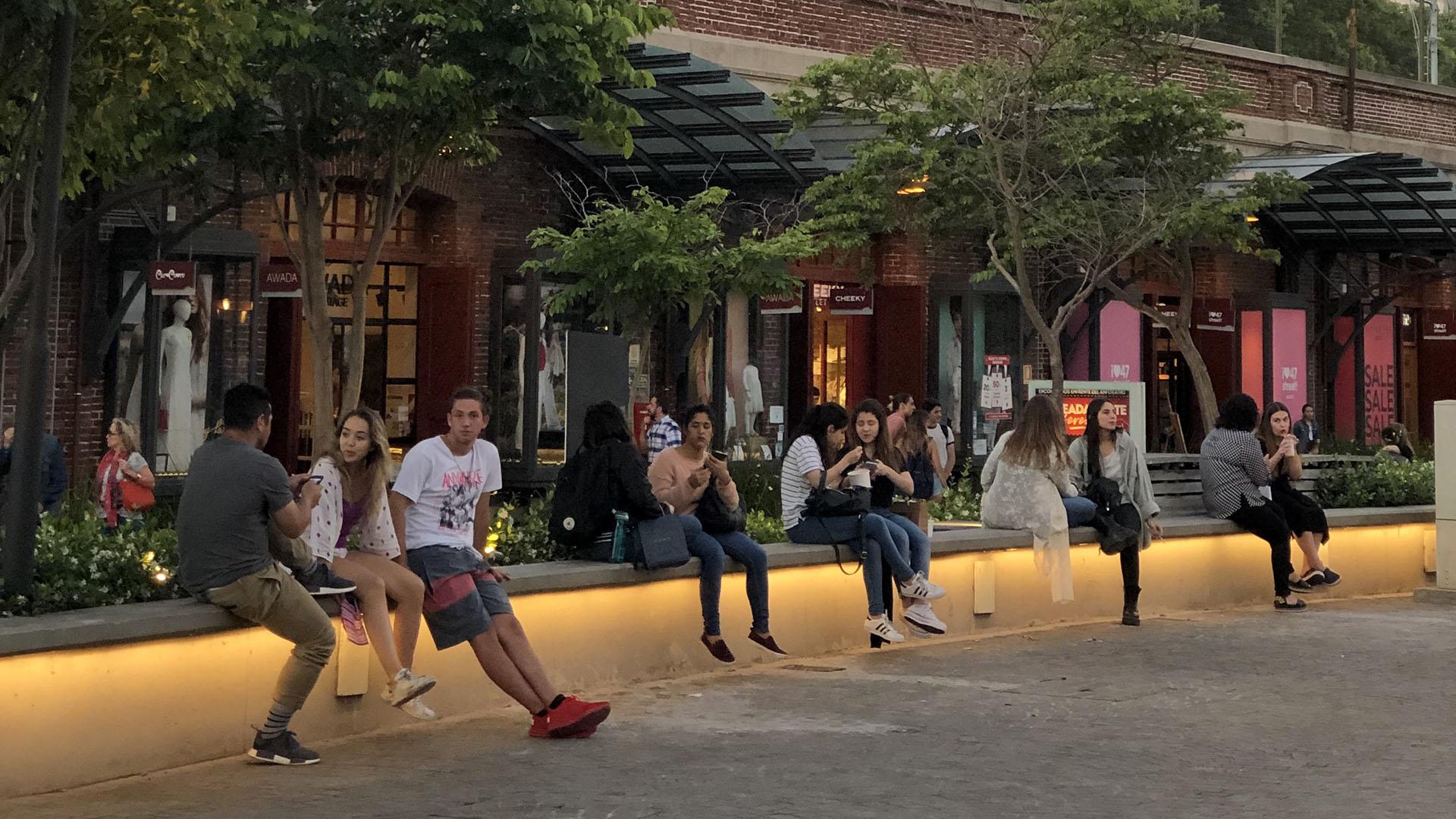 Distrito Arcos es el único shopping a cielo abierto