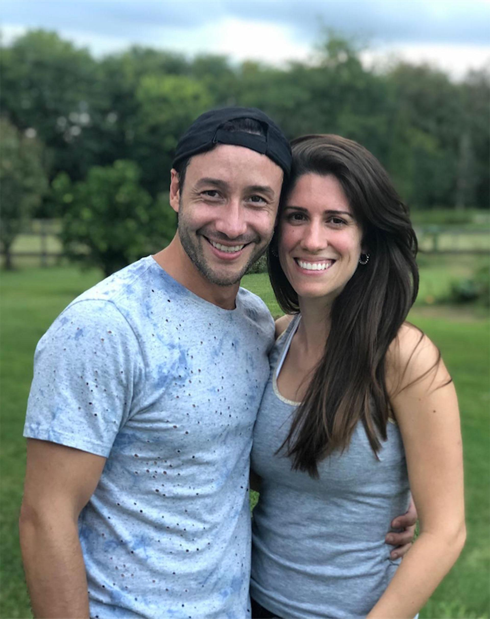 Luciano Pereyra presentó a su nueva novia, Julia, a través de las redes sociales (Foto: Instagram)