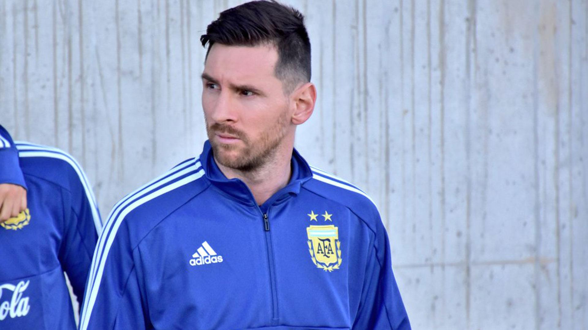 Lionel Messi, el capitán y emblema de la Selección (@Argentina)