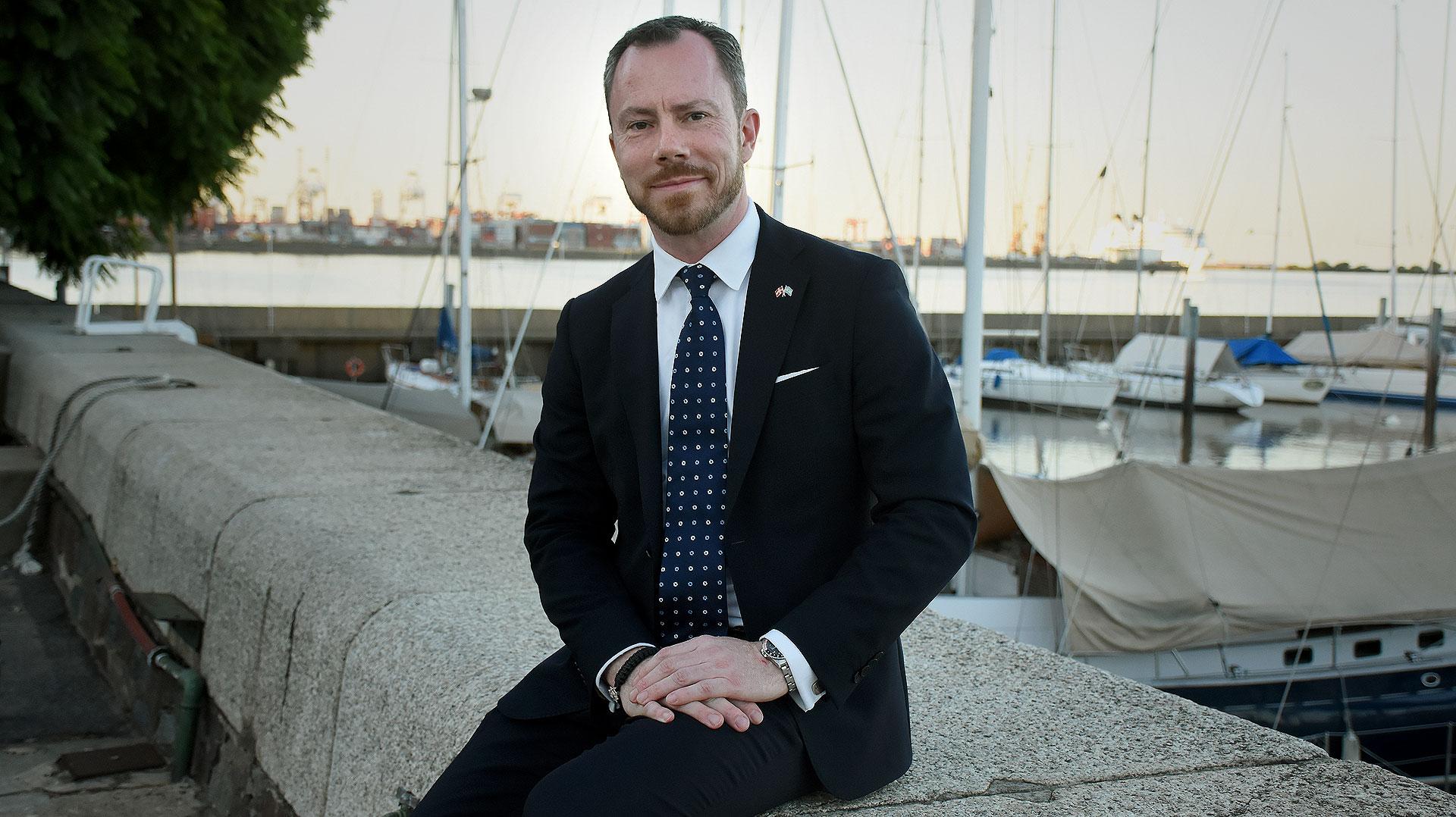El ministro de Medio Ambiente y Agricultura, Jakob Ellemann-Jensen