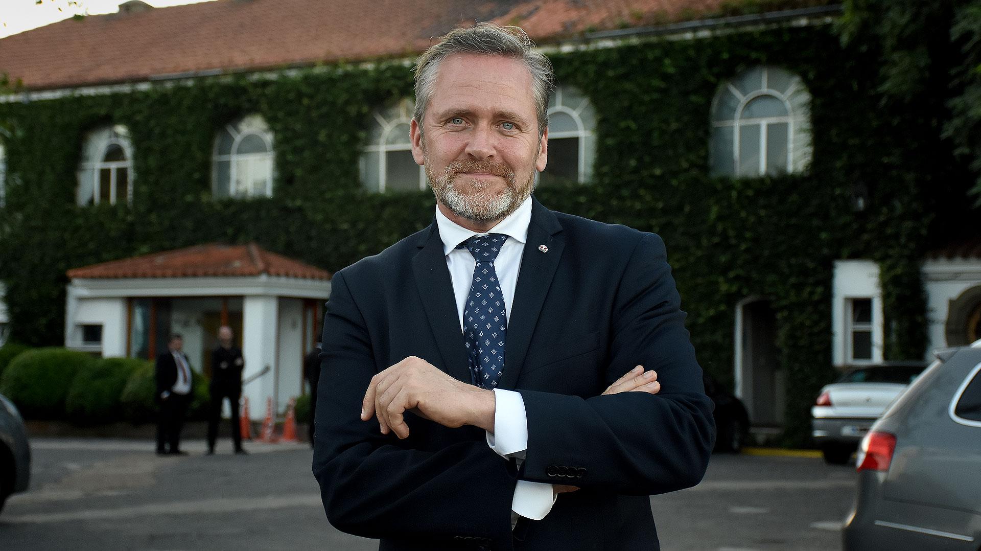El ministro de Relaciones Exteriores de Dinamarca, Anders Samuelsen