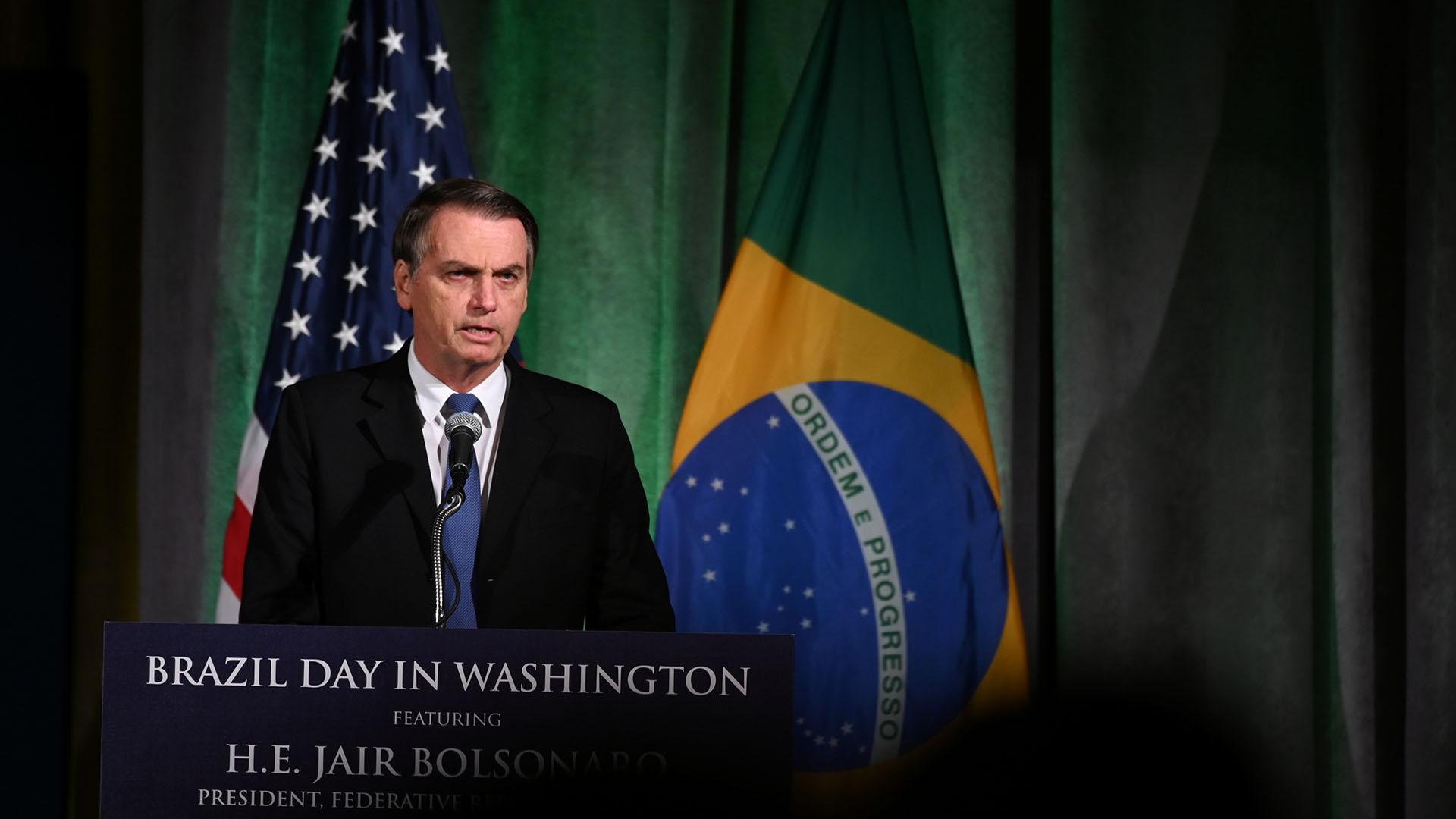 Bolsonaro se reunirá el martes con Trump(REUTERS/Erin Scott)