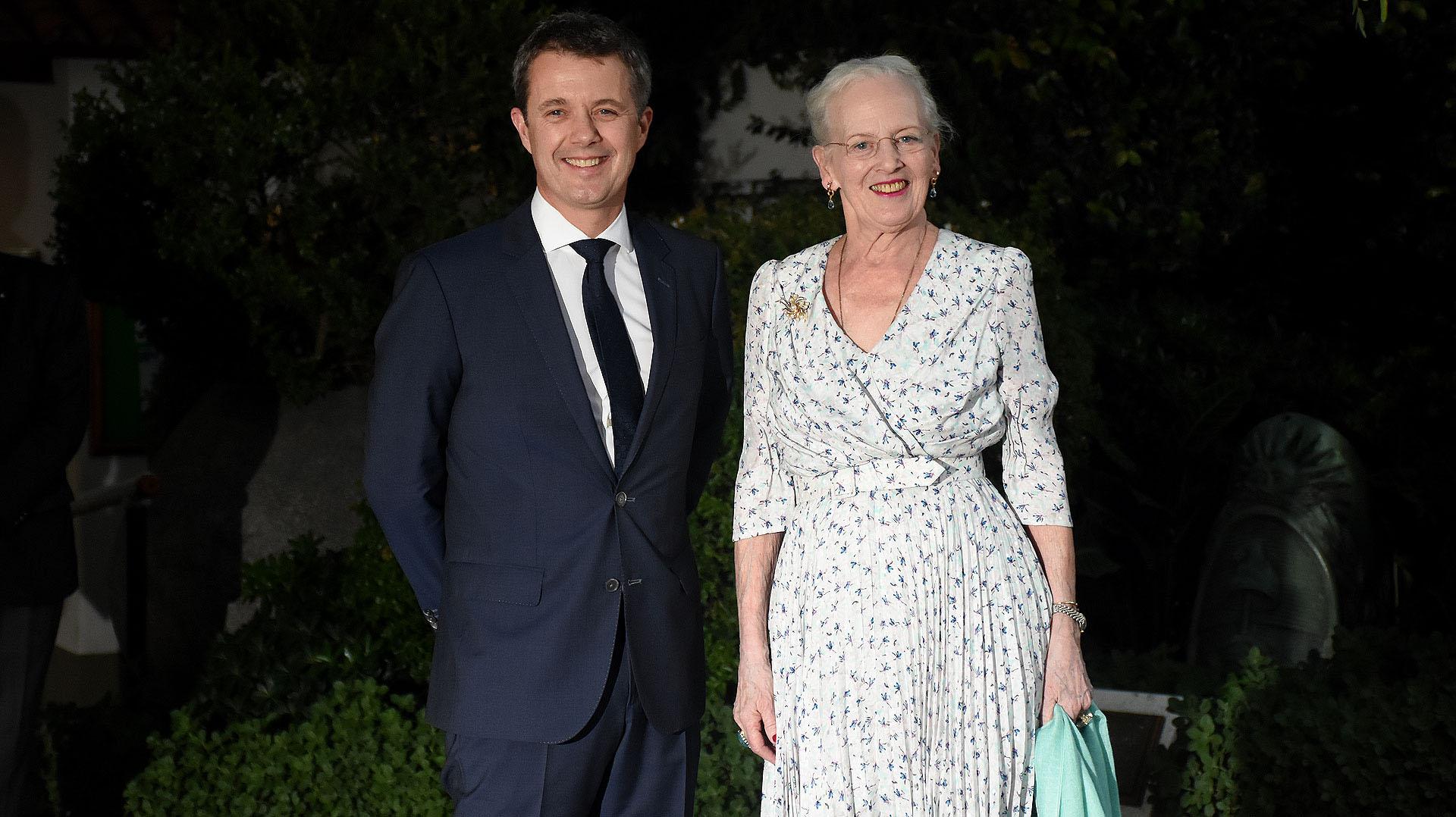 Margarita II tiene 79 años y lleva 46 como reina de Dinamarca. La última vez que visitó Argentina aún era princesa