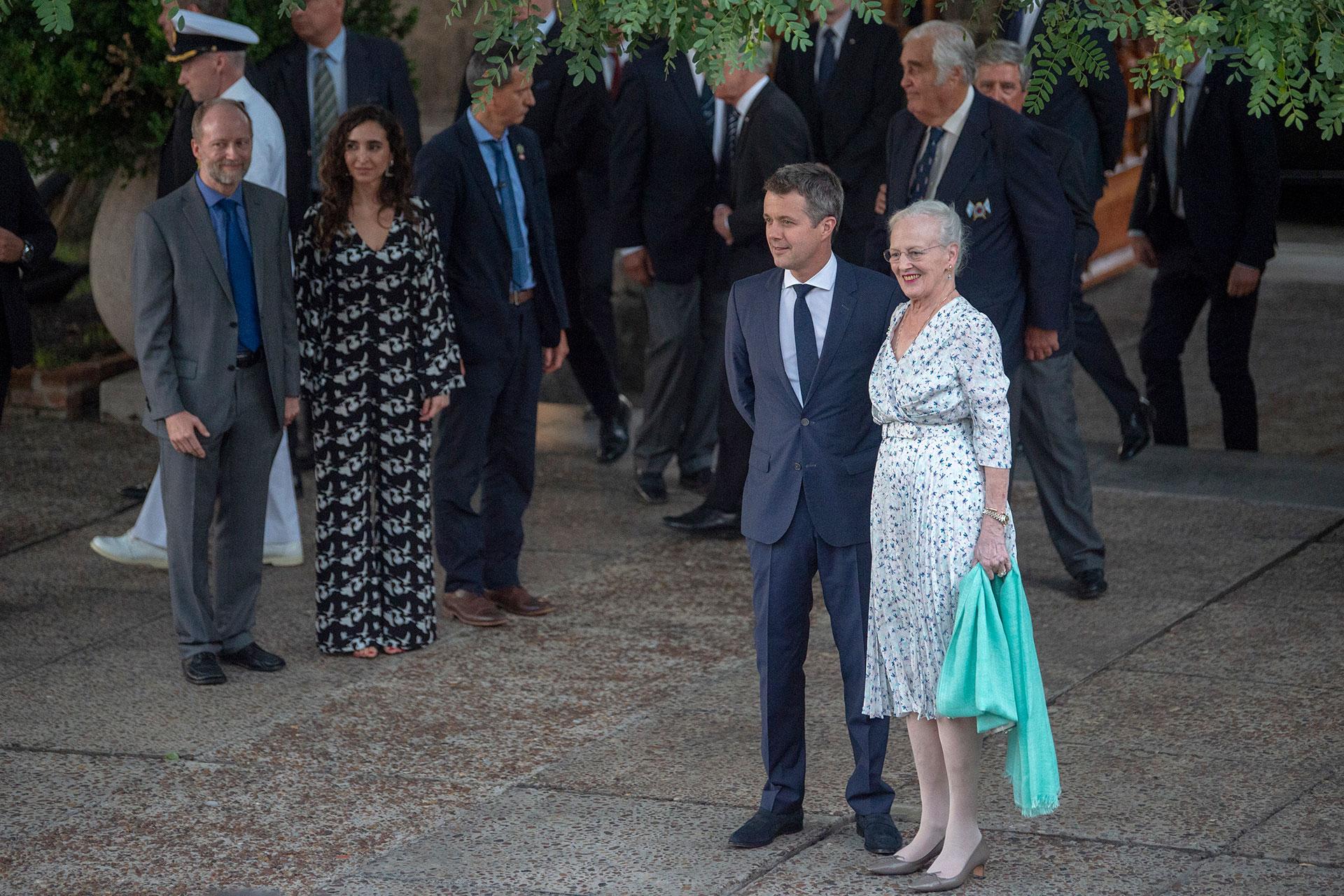 La recepción fue parte de las actividades del día 1 de las visita de Estado