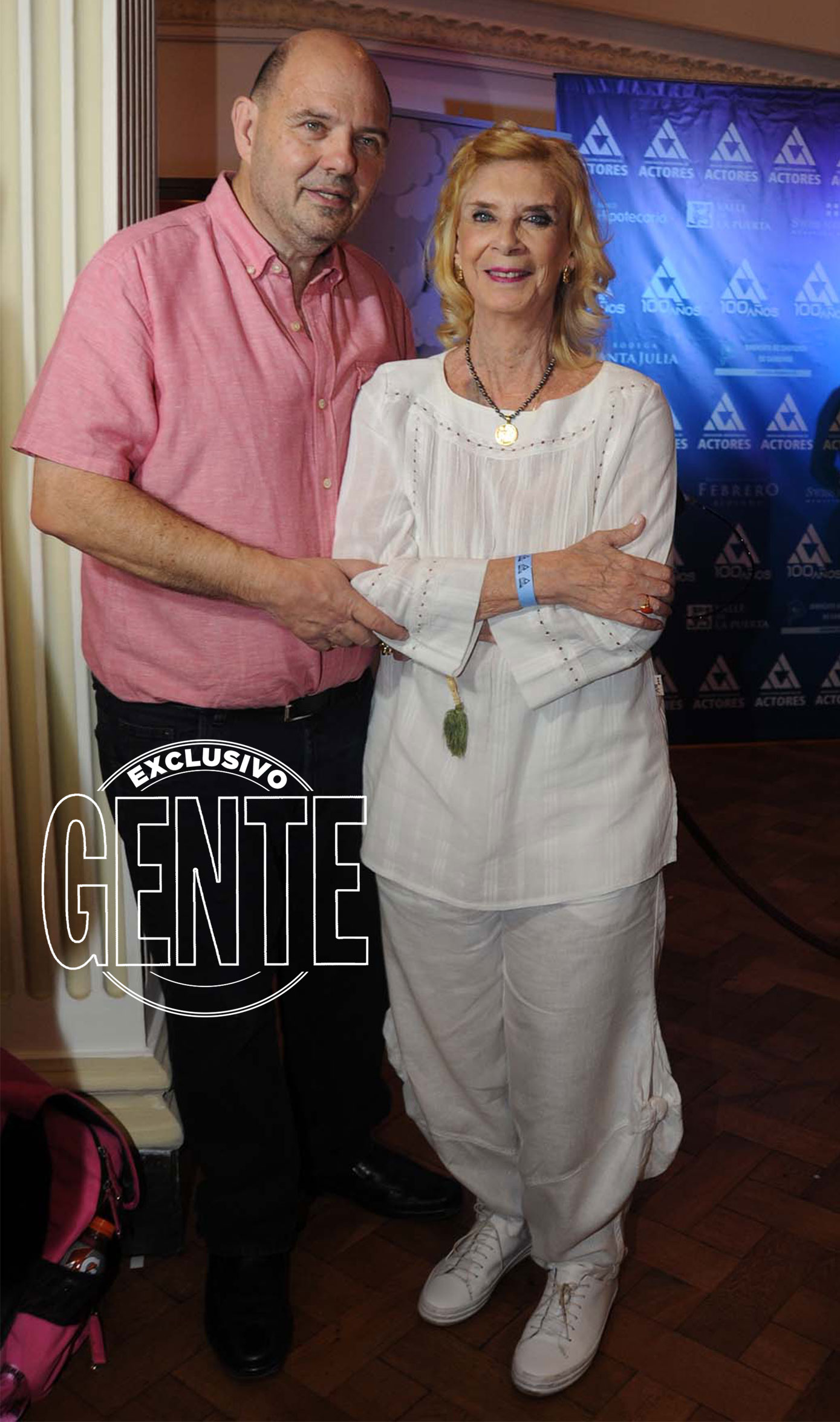 Carlos Rottemberg y Graciela Duffau, en una noche estelar. Foto: Enrique García Medina/GENTE