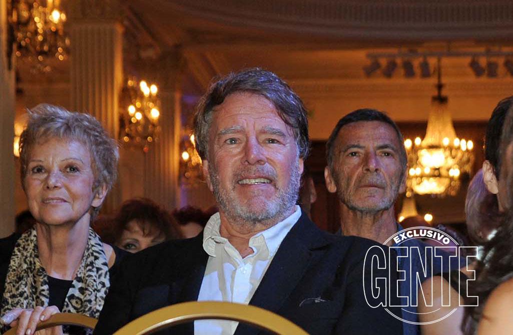 María Barreta, Mario Pasik y Gustavo Garzón en el Palacio San Miguel. Foto: Enrique García Medina/GENTE