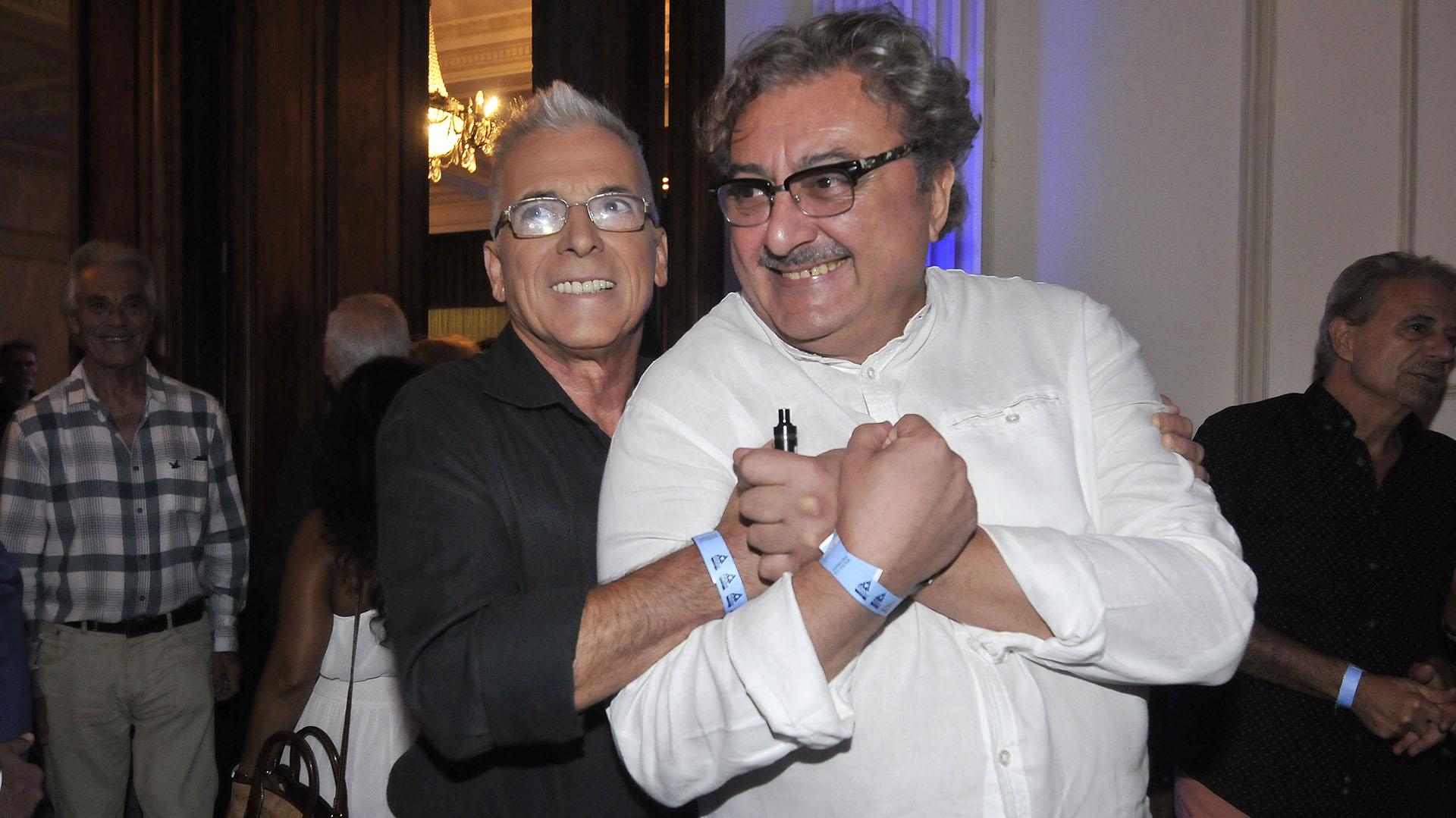Gerardo Romano y Claudio Rissi