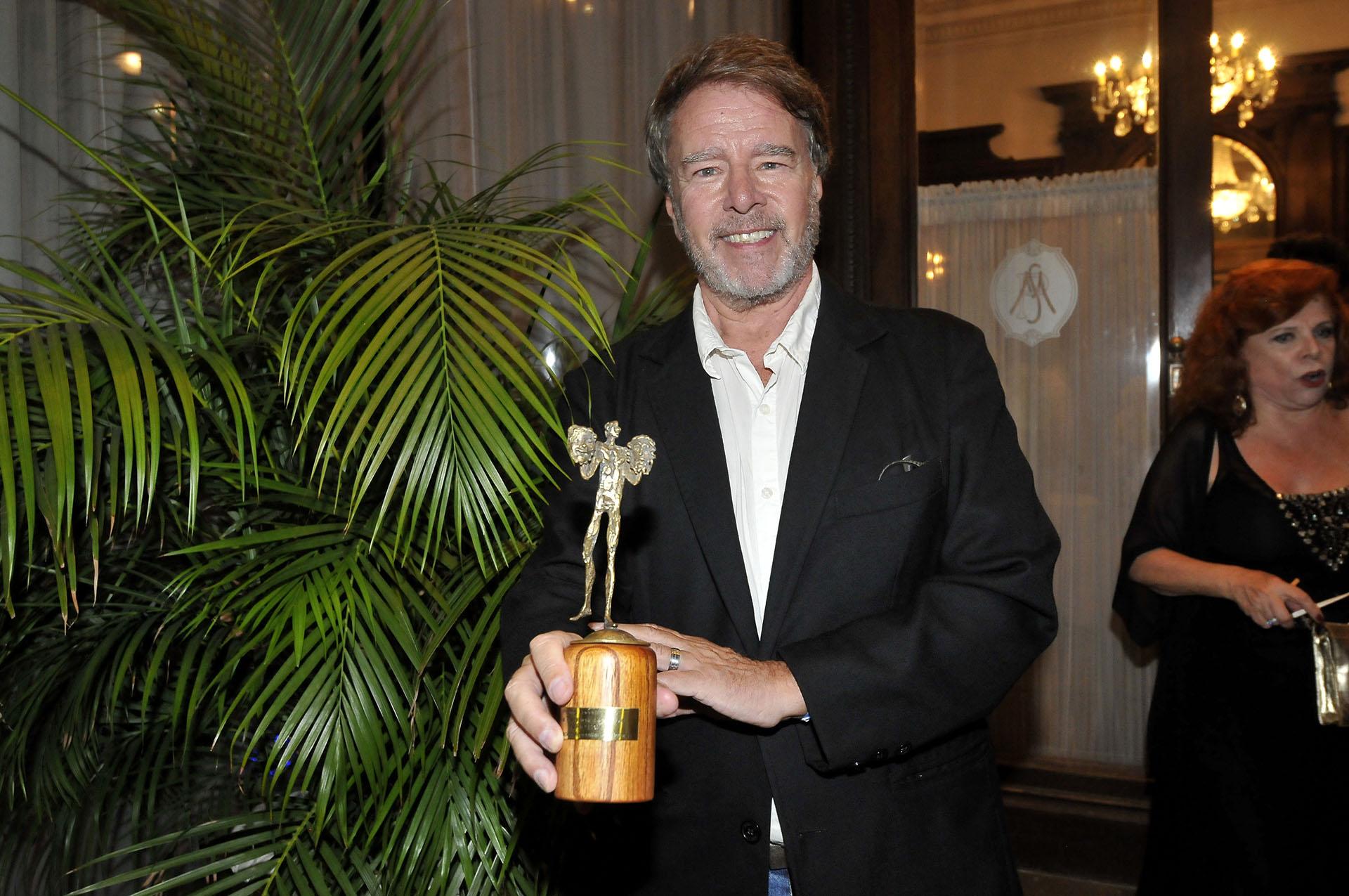Mario Pasik, uno de los actores que recibieron el Premio Podestá