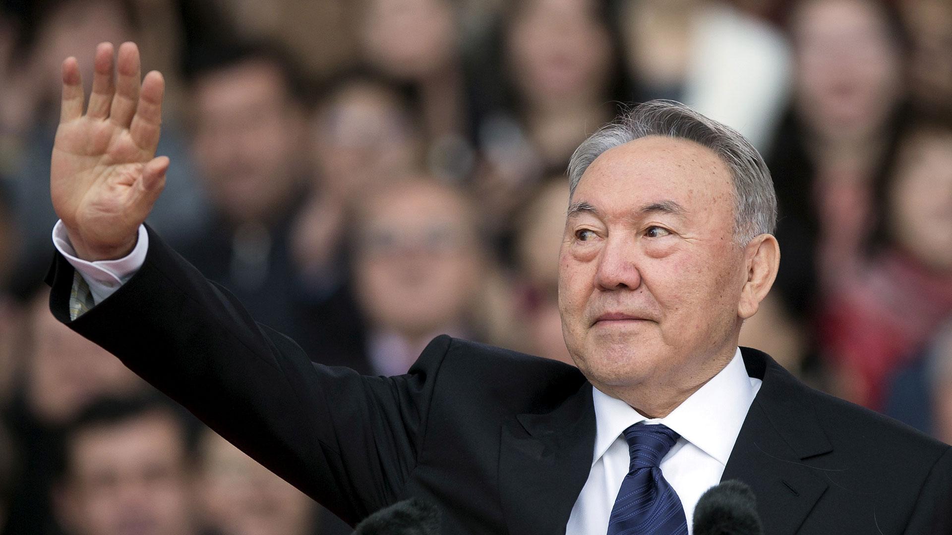 Nursultán Nazarbáyev, presidente de Kazajistán (Reuters)