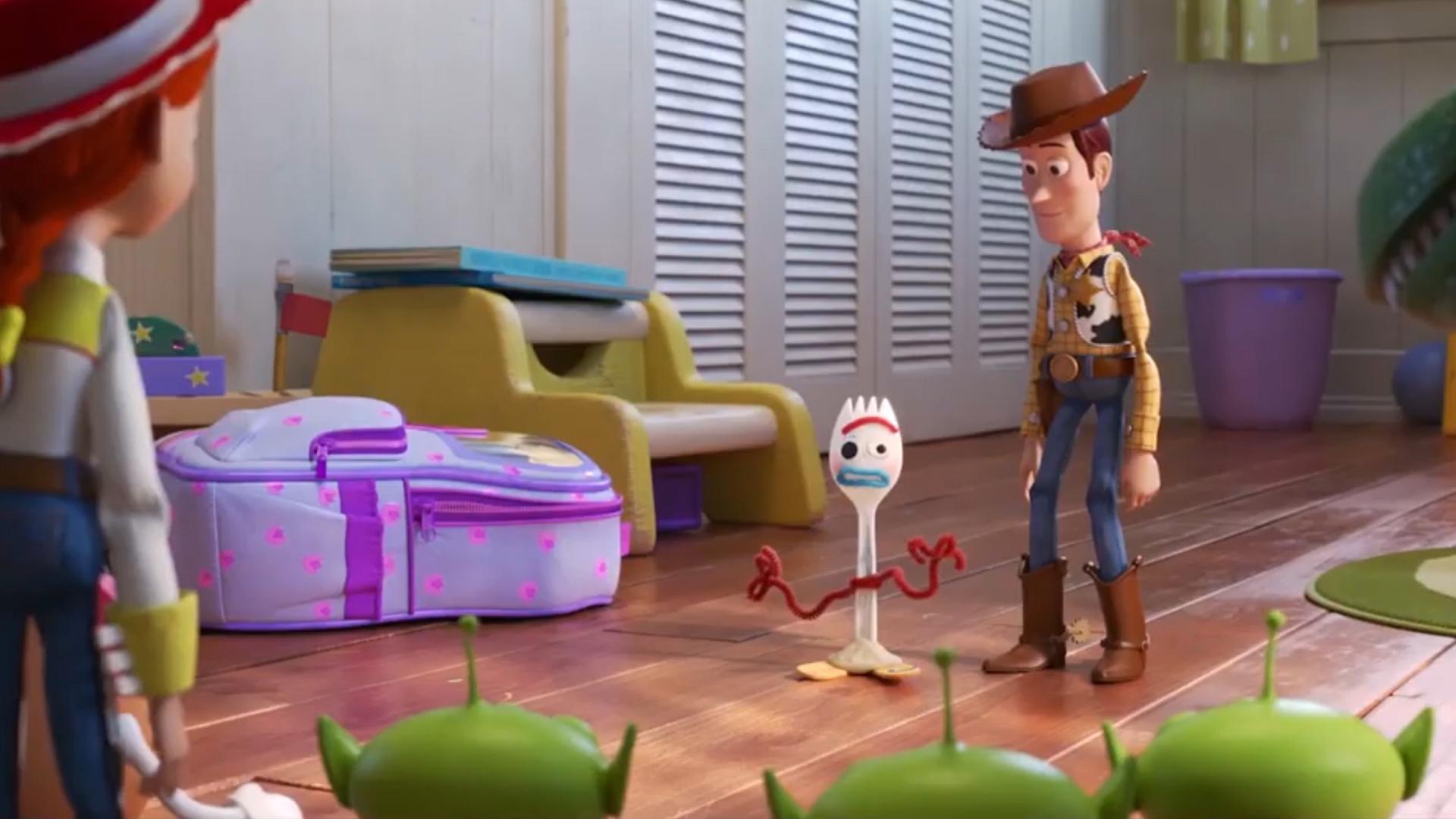 Quién Es Forky El Nuevo Personaje Tenedor De Toy Story 4 Que Es
