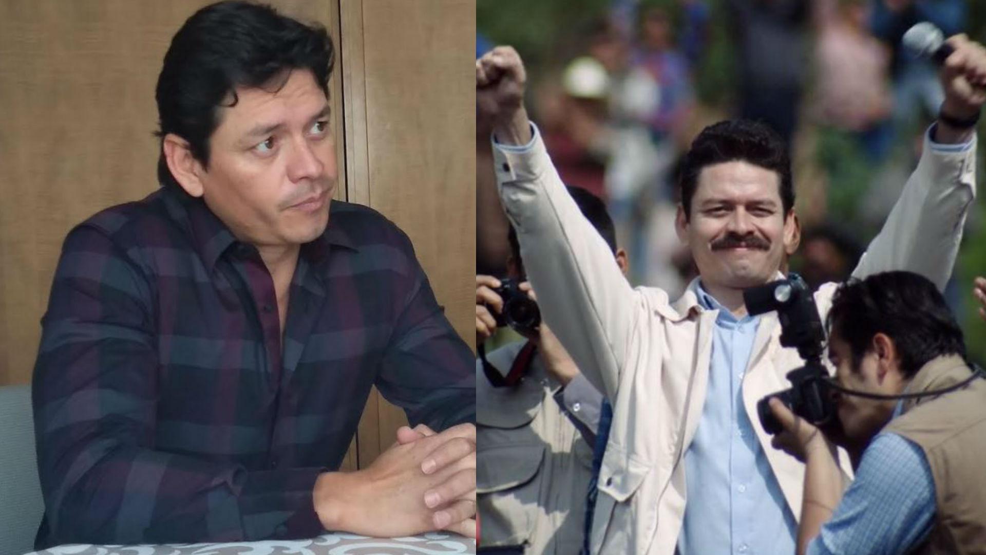 Para interpretarlo, Jorge A. Jiménez no tuvo contacto con la familia de Luis Donaldo Colosio (Foto: Netflix)