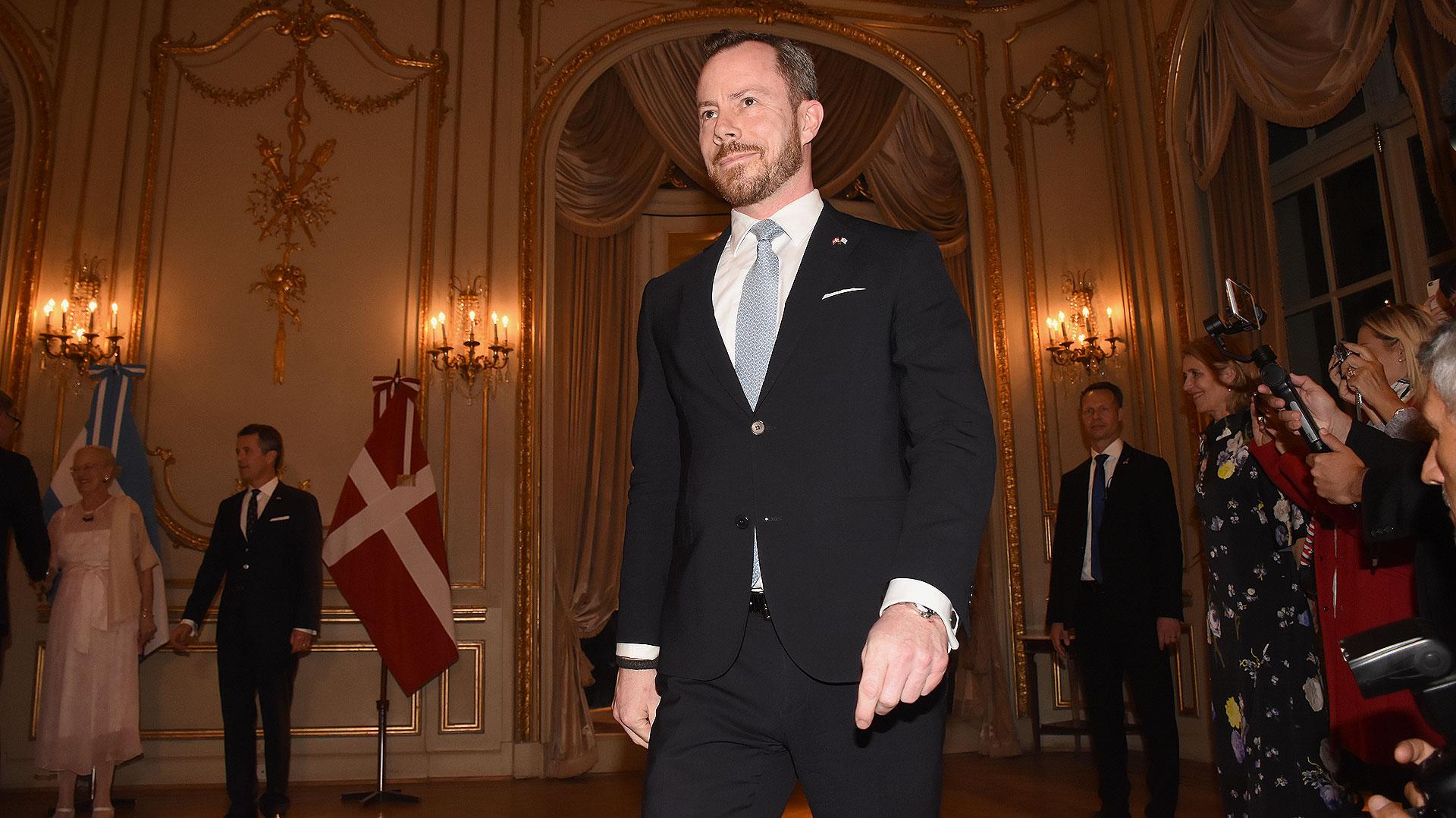El ministro de Medio Ambiente y Agricultura de Dinamarca, Jakob Ellemann-Jensen