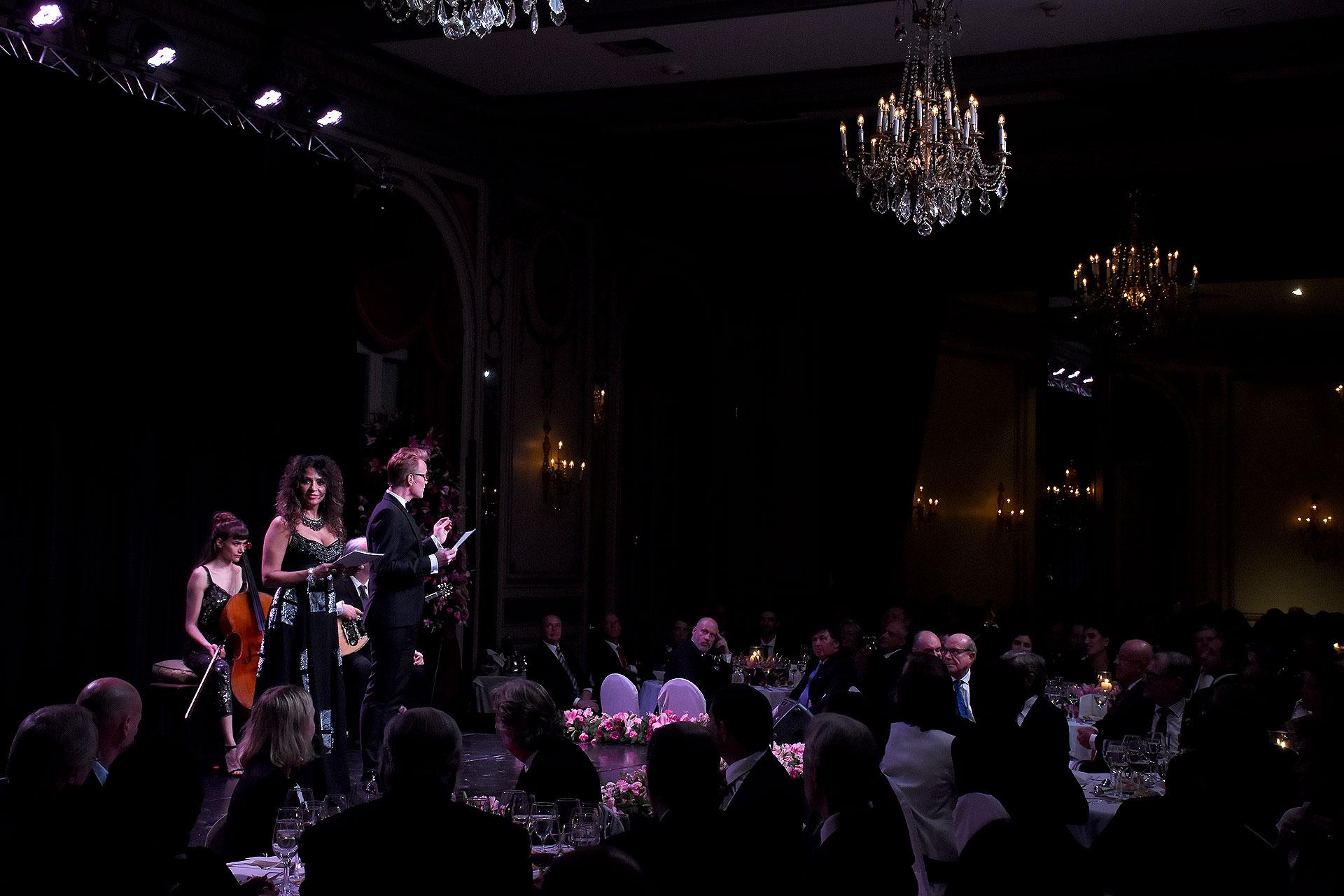Patricia Sosa ofreció un show a los invitados