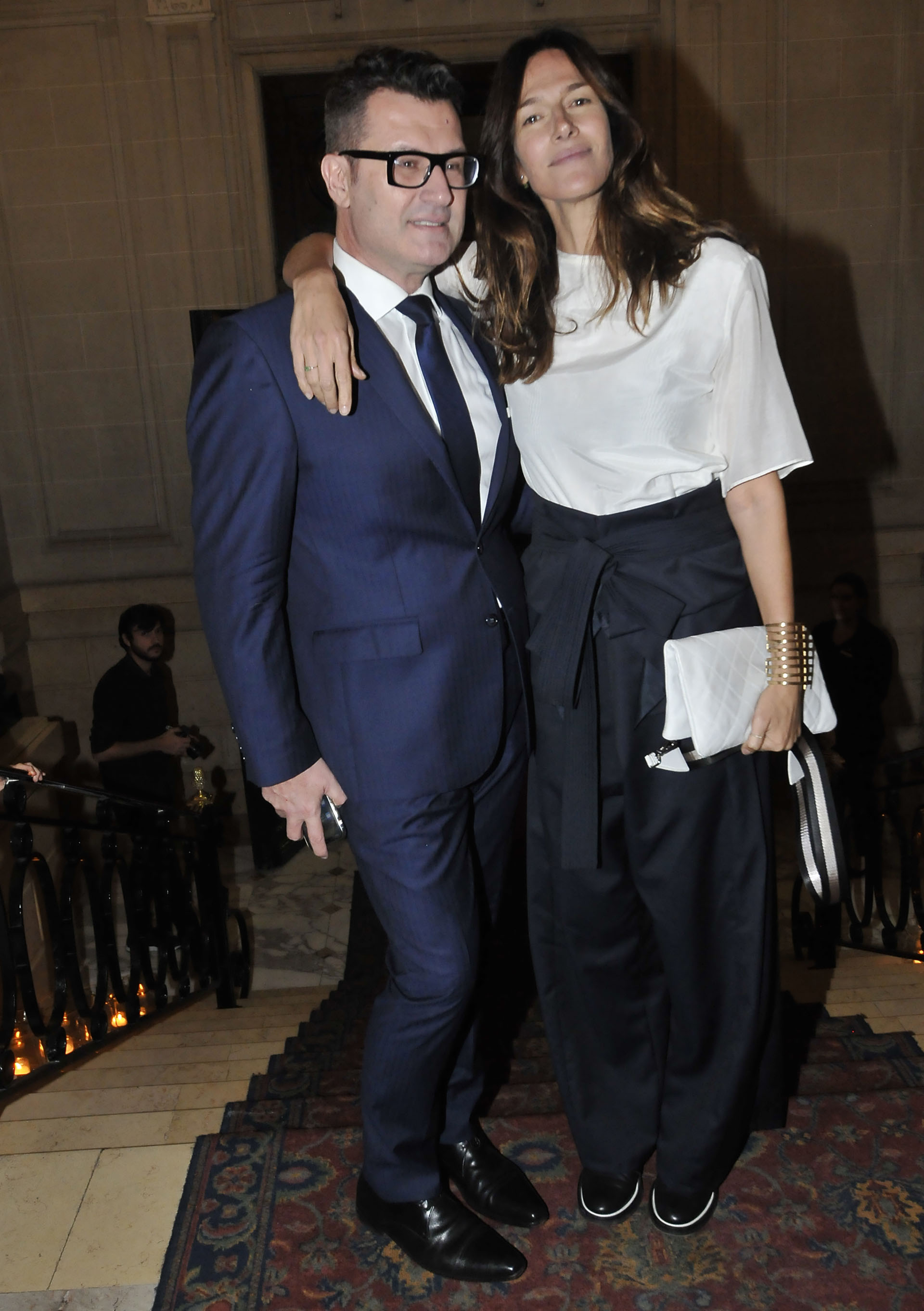 Gabriel Oliveri y Dolores Trull