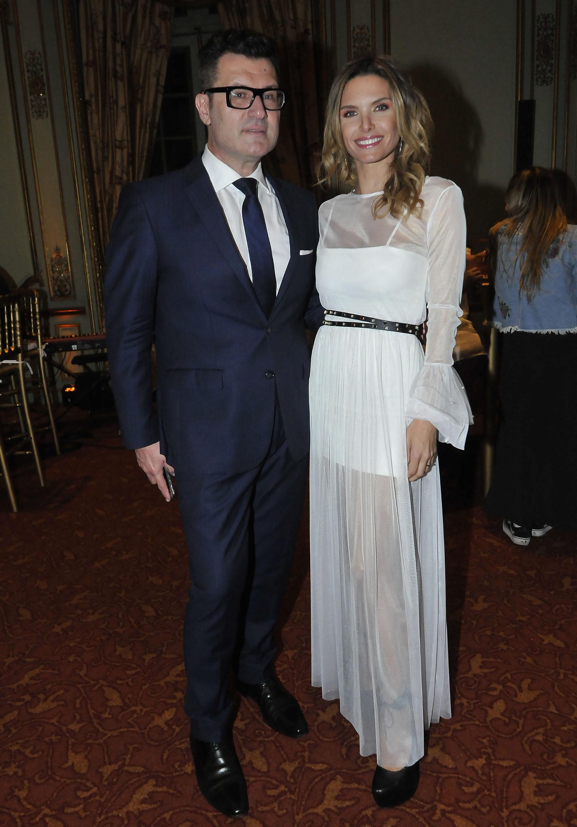 Gabriel Oliveri y Sofía Zamolo (Crédito: Teleshow)