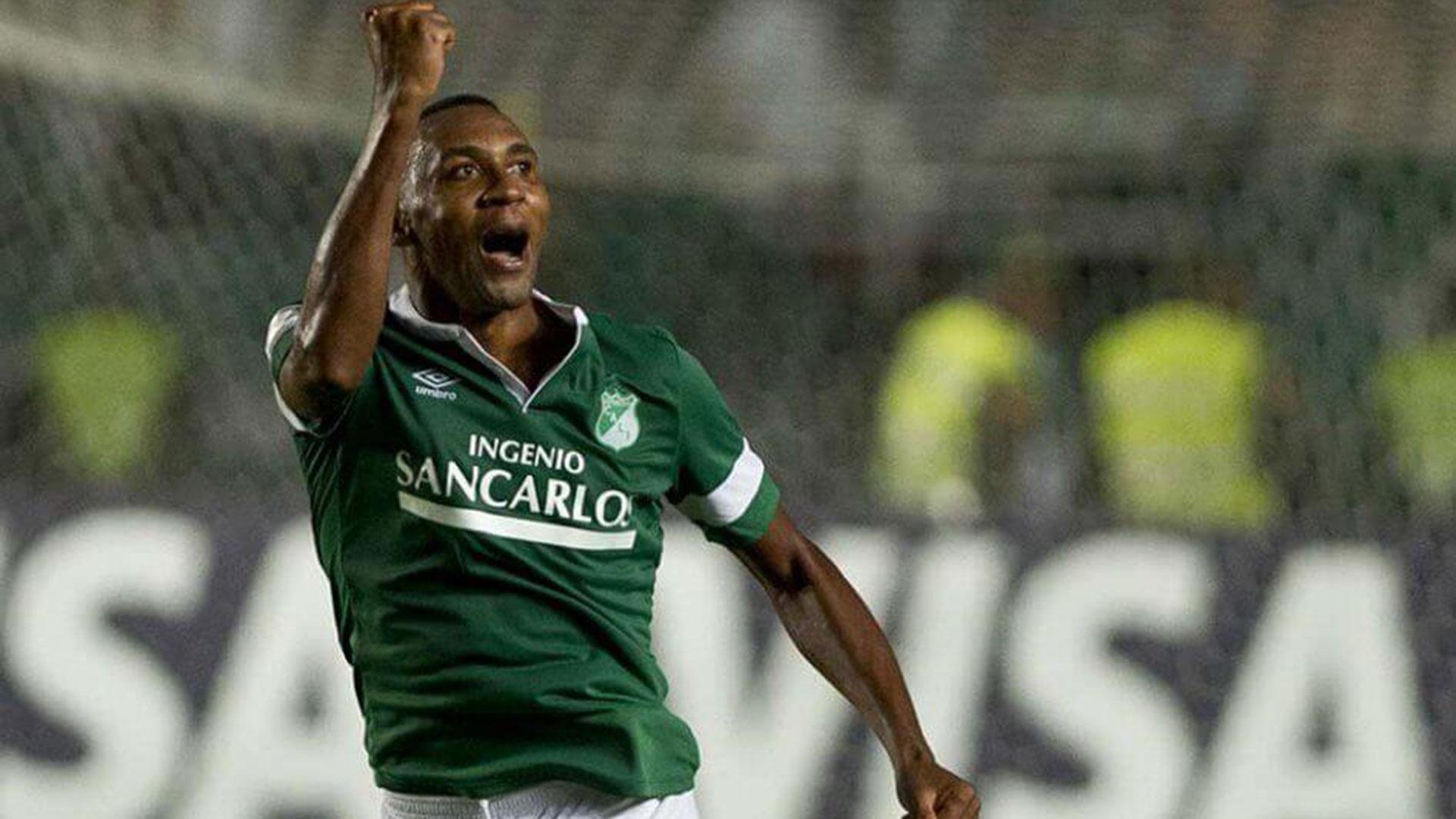 Viáfara estuvo en el club nacional Once Caldas cuando ganó el título de Copa Libertadores.