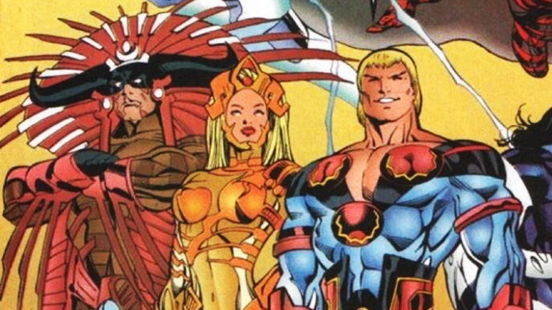 """Comic """"The Eternals"""" que en 2021 se prepara para su película"""