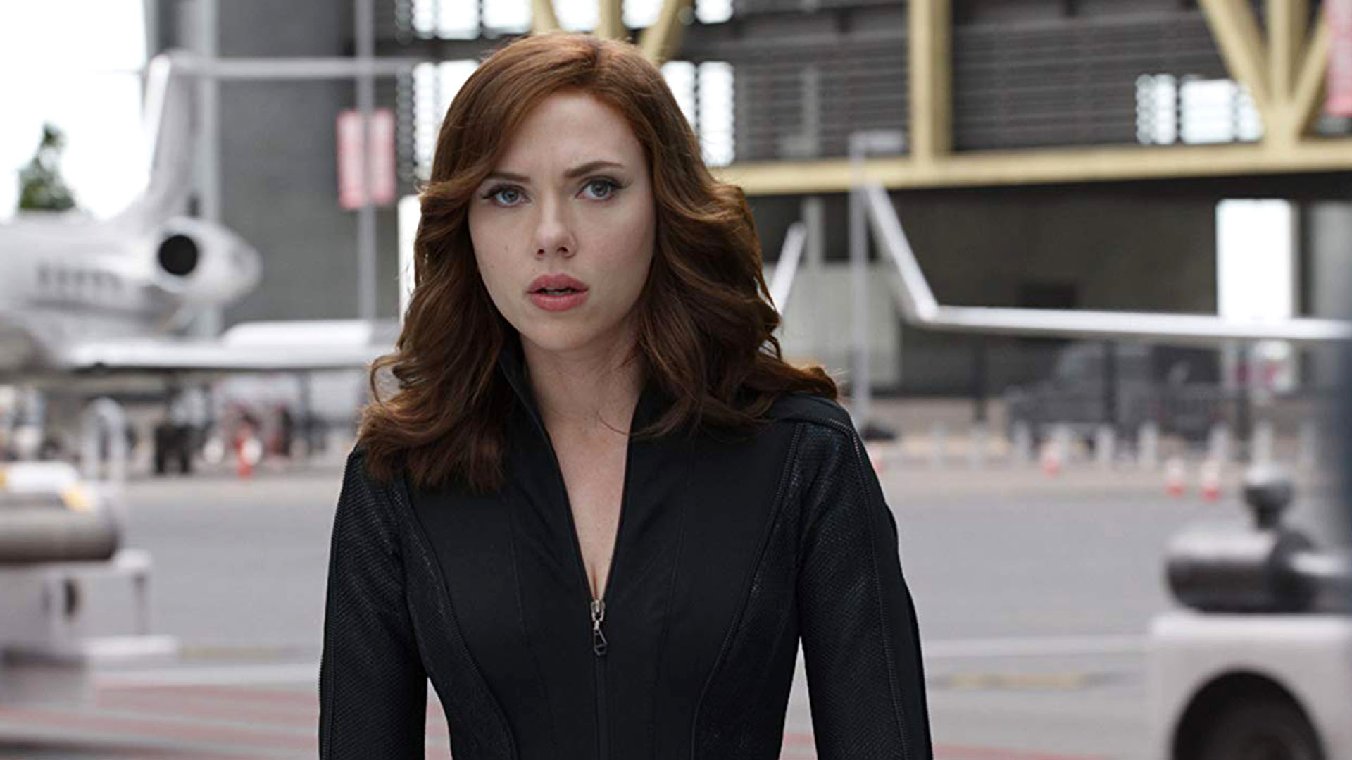 """Scarlet Johansson en la primera parte de """"Black Widow"""""""