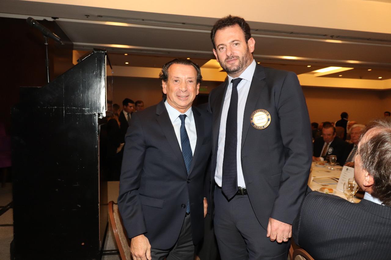 Dante Sica y José Urtubey (Gentileza Rotary Club Buenos Aires)