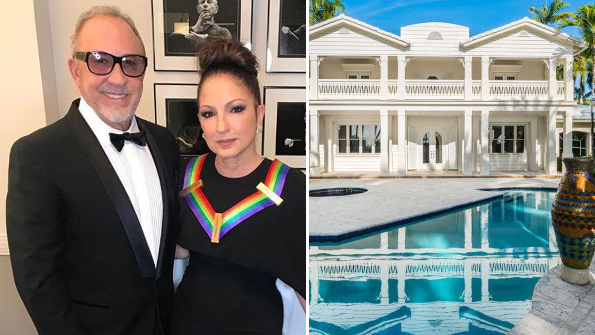 Gloria y Emilio Estefan han puesto a la venta una de sus casas en Miami (Foto: LIFESTYLE PRODUCTION GROUP)
