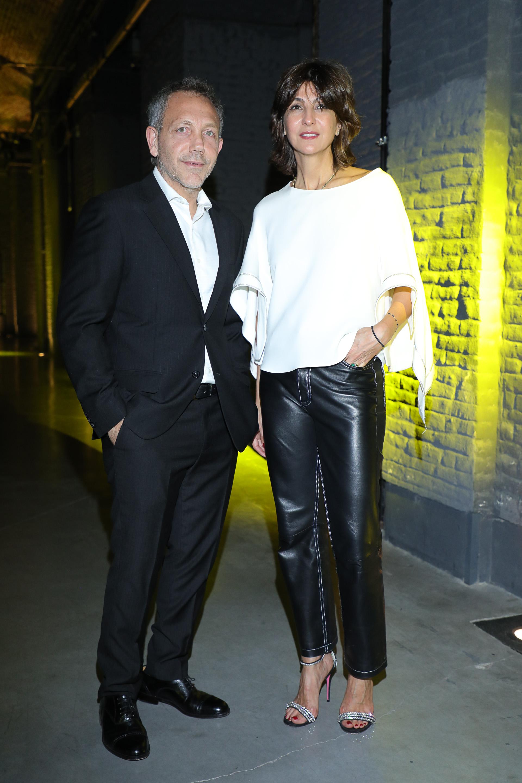 Guillermo Azar, productor Designers BA y Evangelina Bomparola