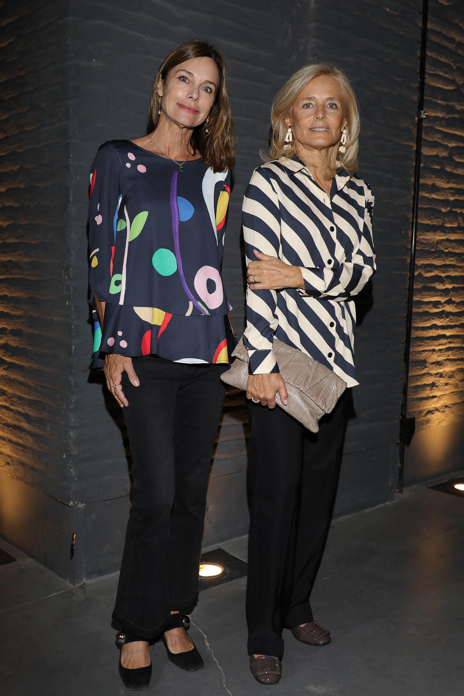 Flavia Martini junto a Cecilia Zuberbuhler