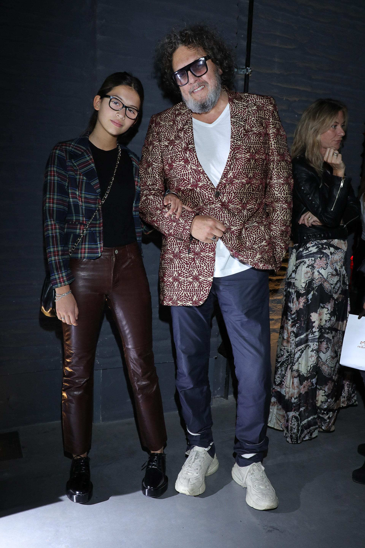 Ramiro Agulla y su hija [caption id=