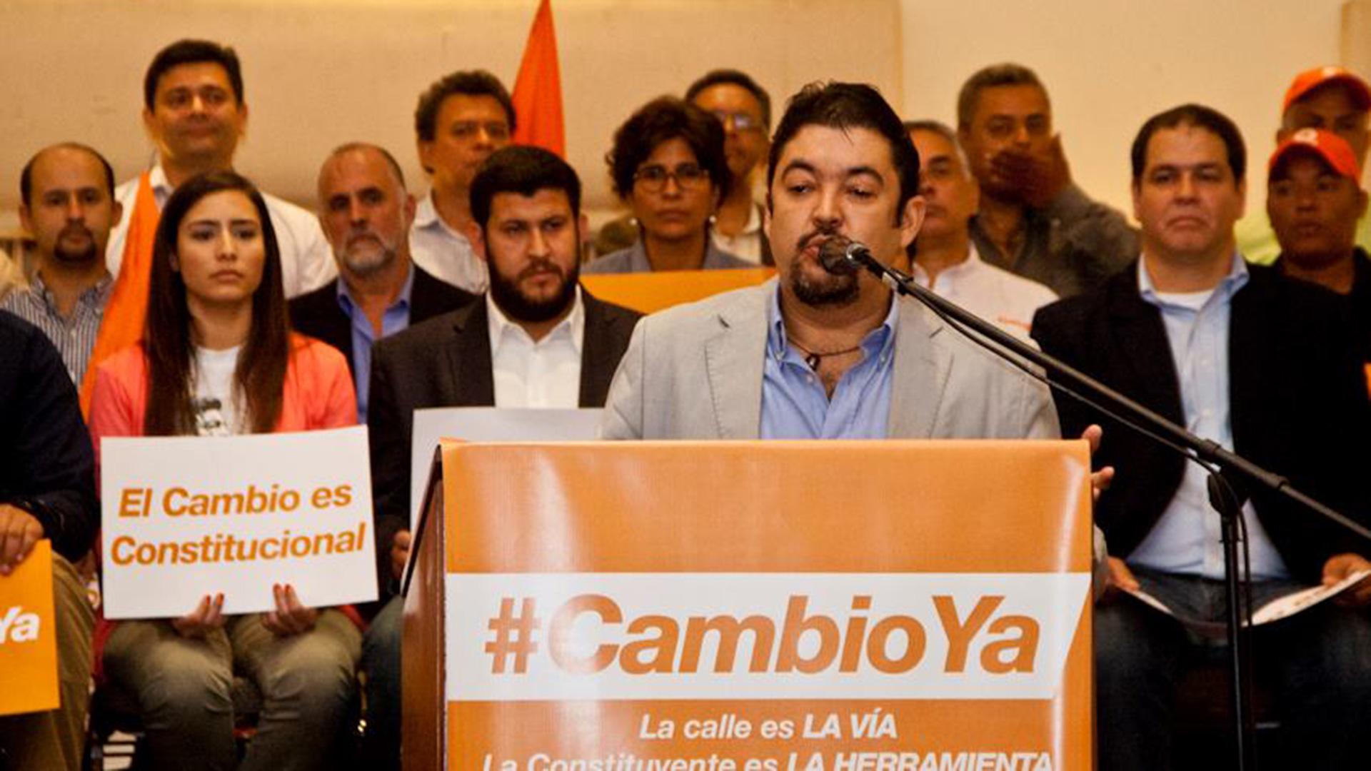 Roberto Marrero fue detenido este jueves en su residencia de Caracas (Foto: Facebook Roberto Marrero)