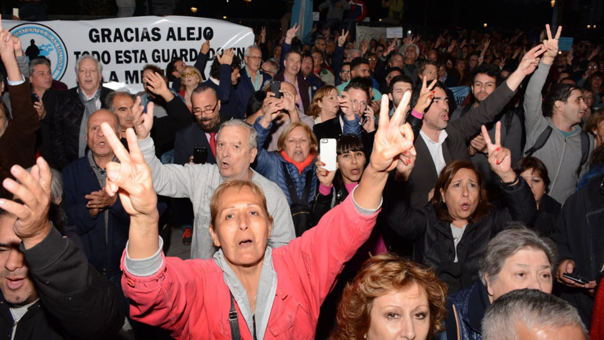 "La gente gritó ""Vamos a volver"" y pidió la vuelta de Cristina Kirchner"