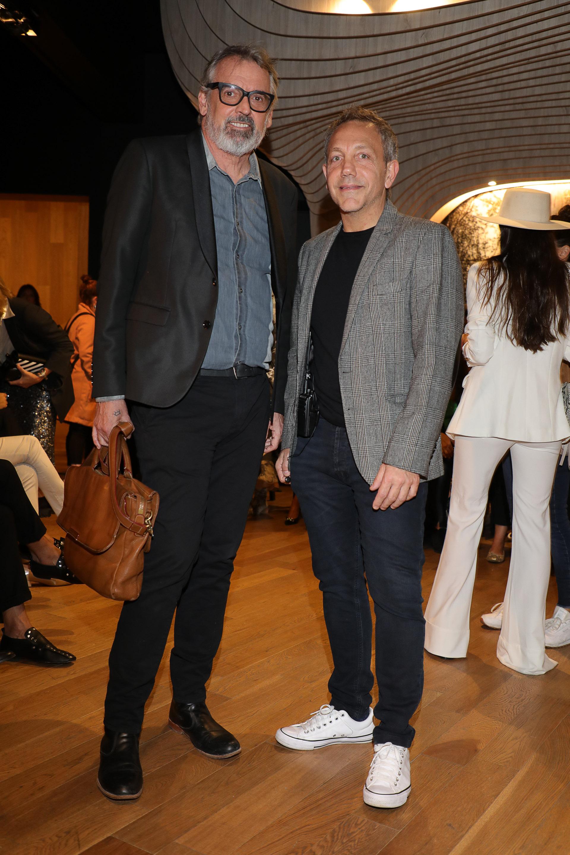Benito Fernández y Guillermo Azar durante la presentación de Zitta, que concluyó la semana de la moda Designers BA