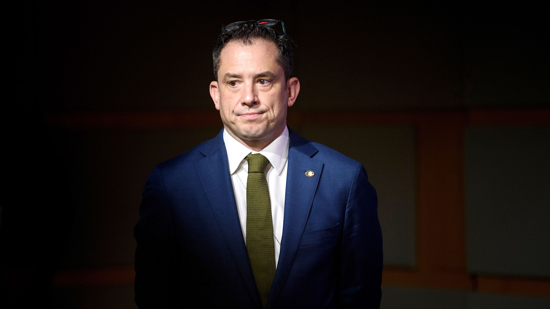 Robert Palladino, vocero del Departamento de Estado de EEUU (AFP)