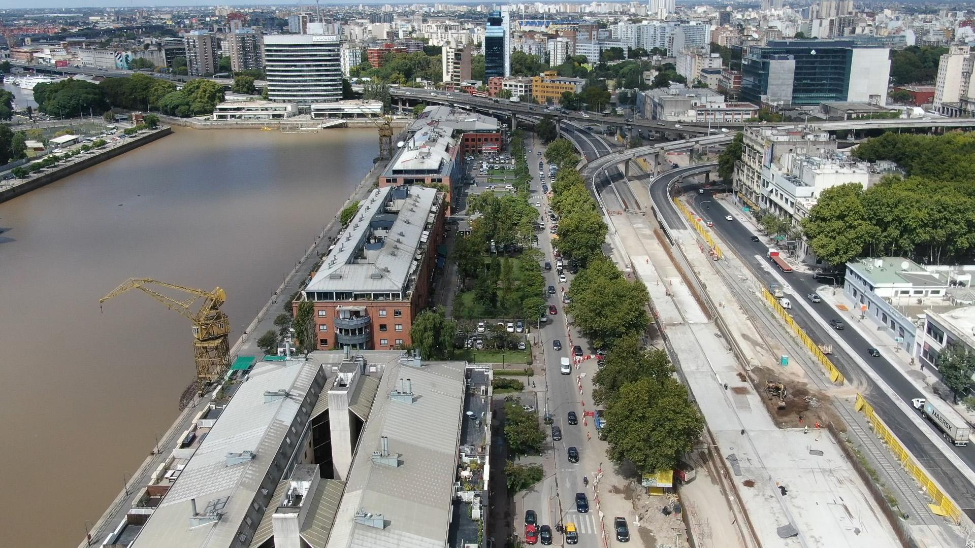 La megaobra pretende agilizar el tránsito y sumar nuevos espacios verdes