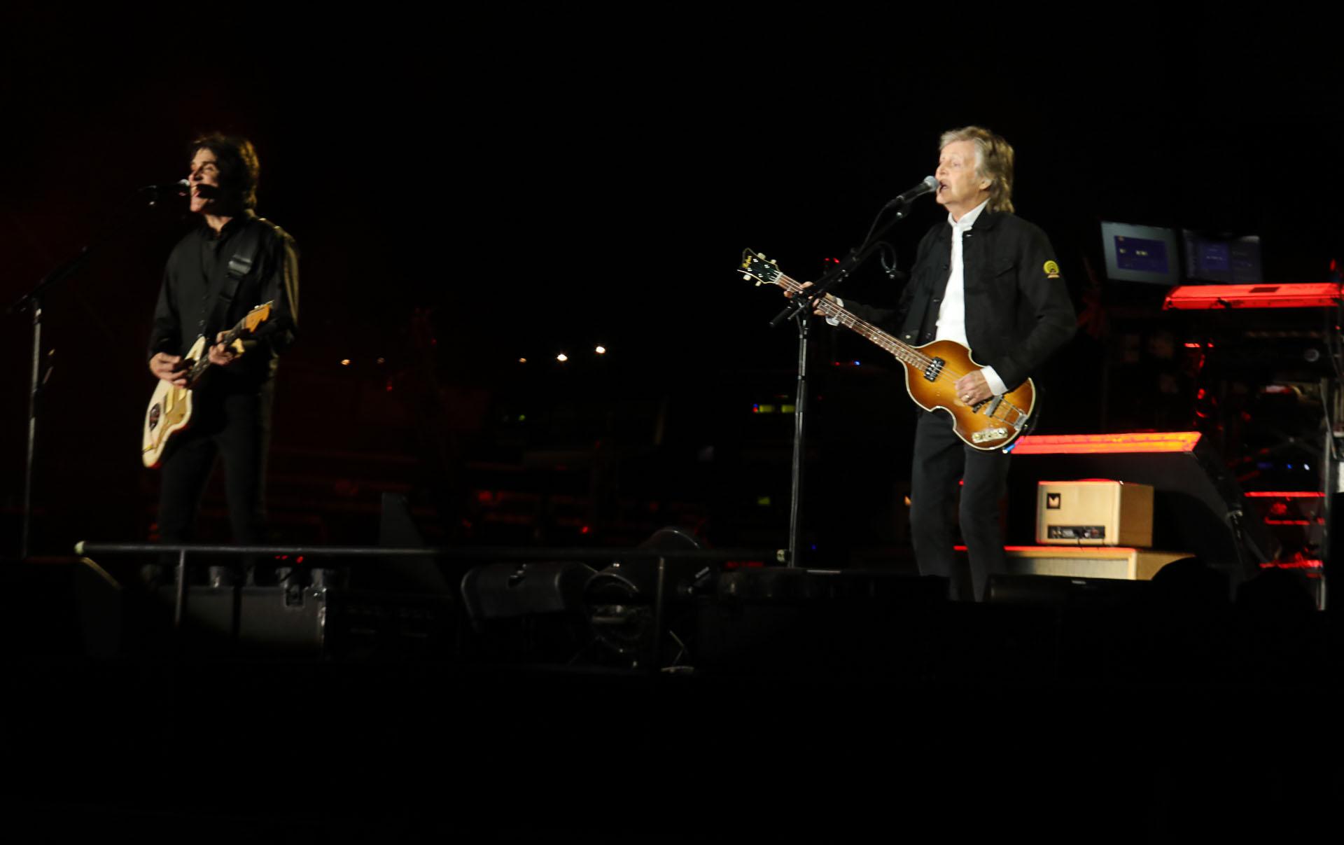 """El nuevo desembarco de Paul tiene lugar en el marco del """"Freshen Up Tour"""", que tiene como excusa la presentación de su álbum """"Egypt Station"""" (Christian Bochichio / Teleshow)"""