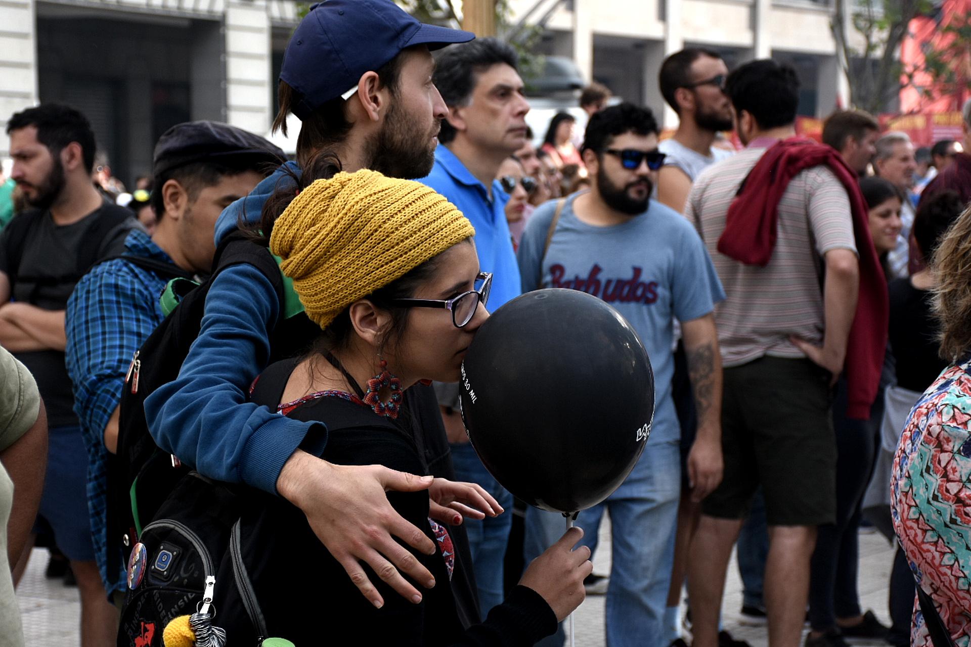 Miles de jóvenes participaron de las diferentes convocatorias que se hicieron en el país
