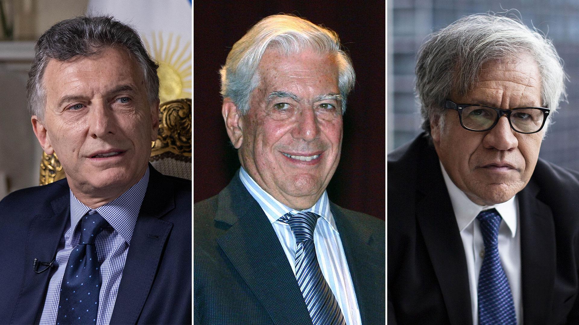 El Nobel compartirá mañana el estrado junto al presidente Macri y Luis Almagro (Fotos: Bloomberg y AFP)