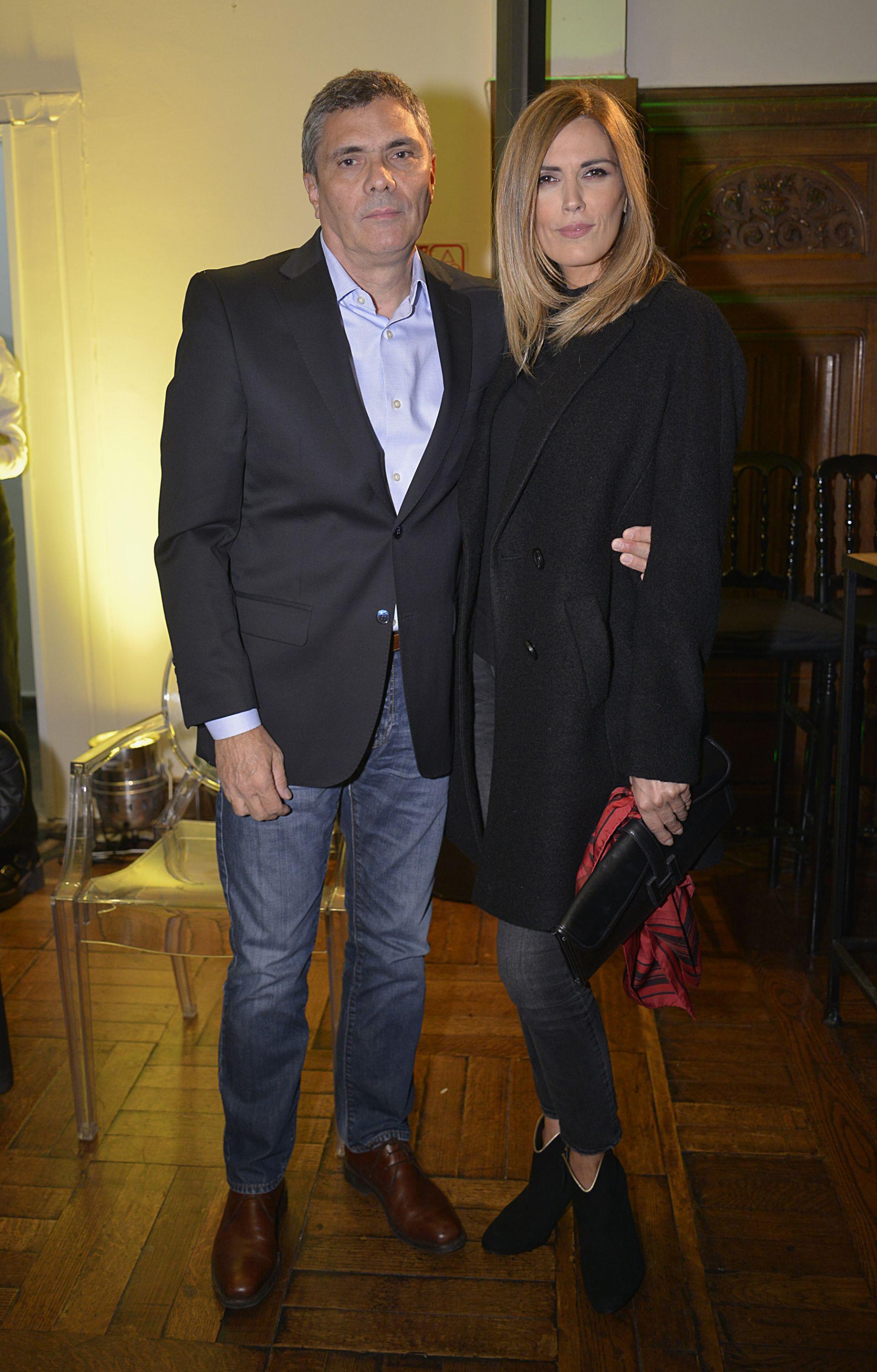 Sebastián Borensztein y Viviana Canosa