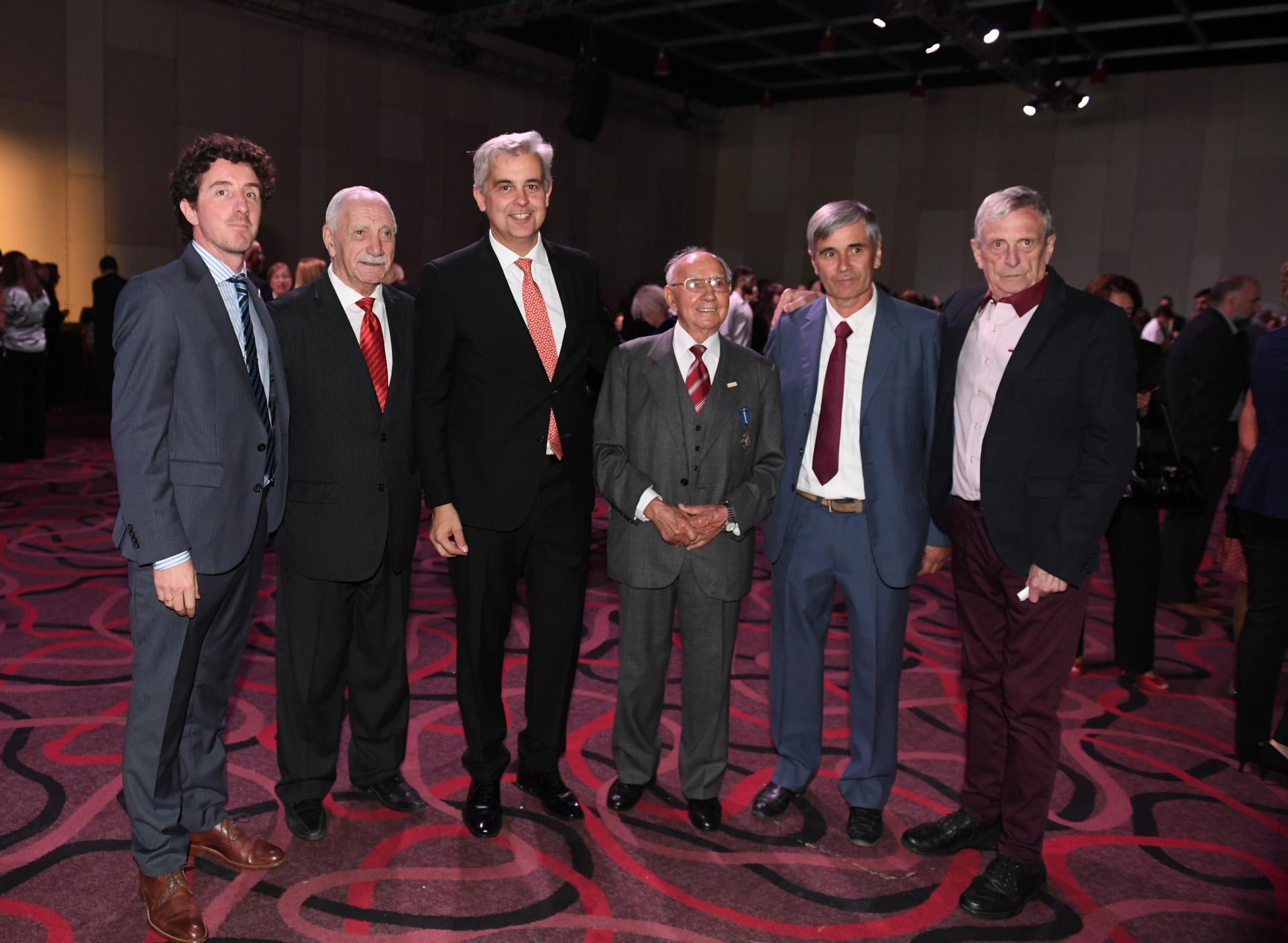 Parte la colectividad española viviendo en Argentina. En total el encuentro reunió a más de 700 invitados