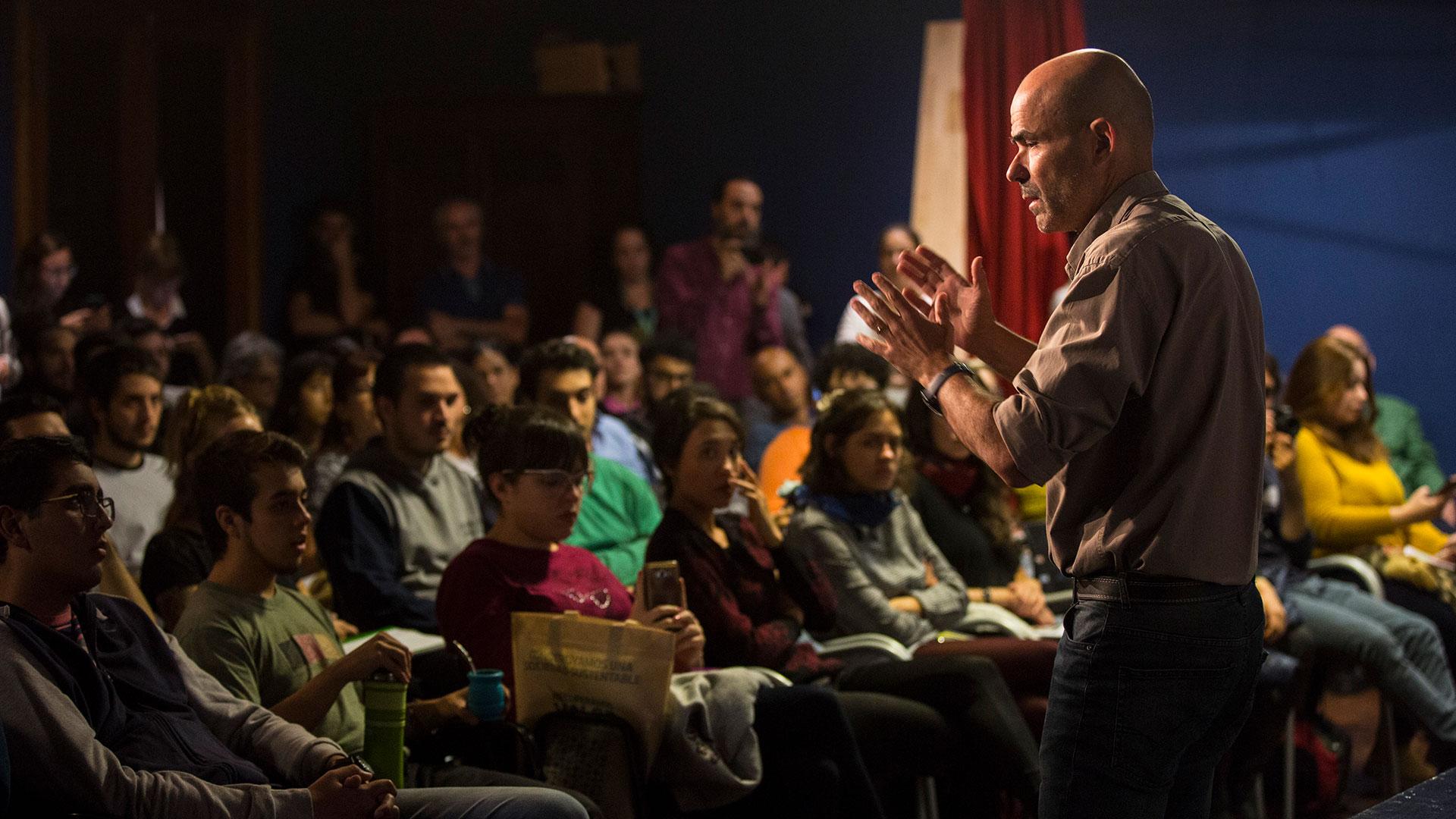 Eduardo Sacheri en el Congreso de la Lengua