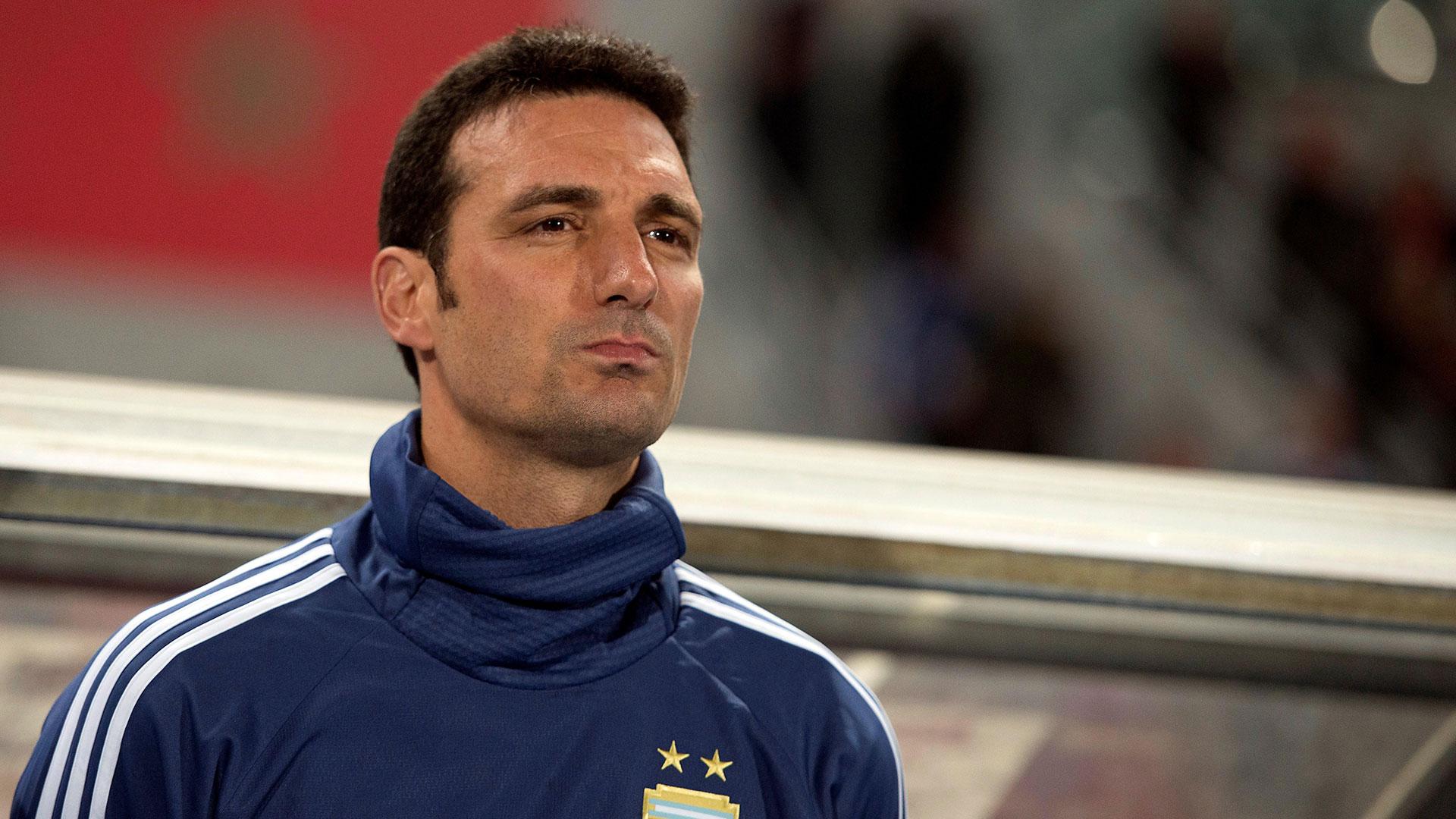 Lionel Scaloni dio una lista preliminar de 40 futbolistas para disputar la Copa América de 2019 (EFE)